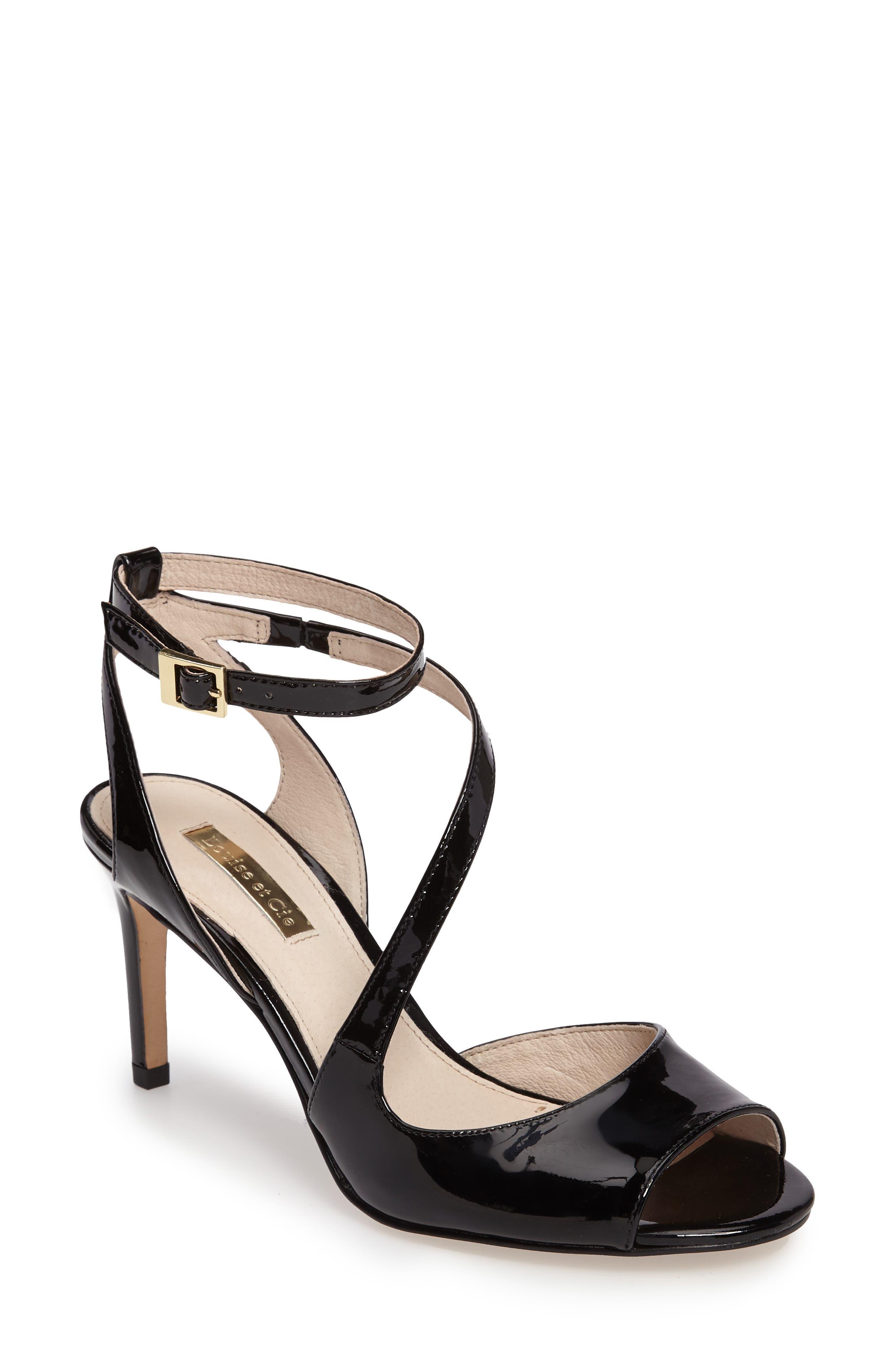 Kealy Asymmetrical Strappy Sandal,                         Main,                         color, 003