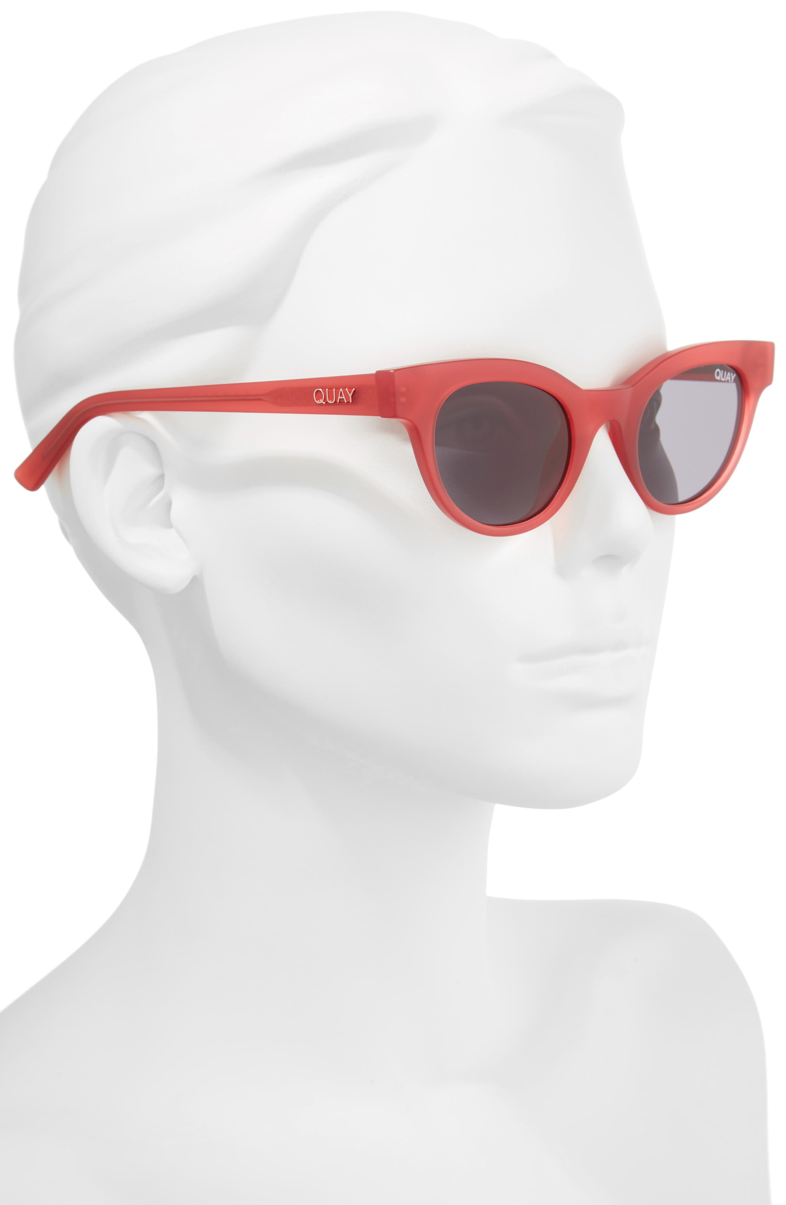 Starstruck 48mm Cat Eye Sunglasses,                             Alternate thumbnail 2, color,                             PINK SMOKE