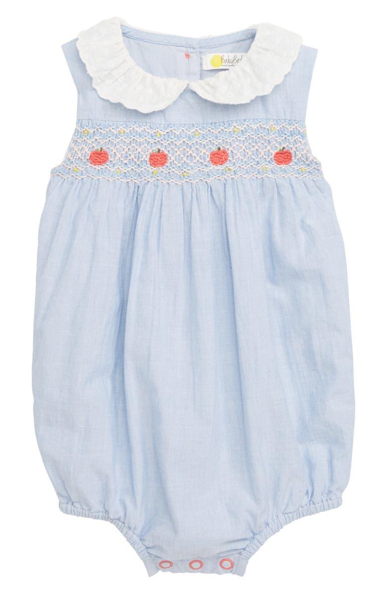 1d022ab4e33 Mini Boden Smocked Bubble Romper (Baby Girls)