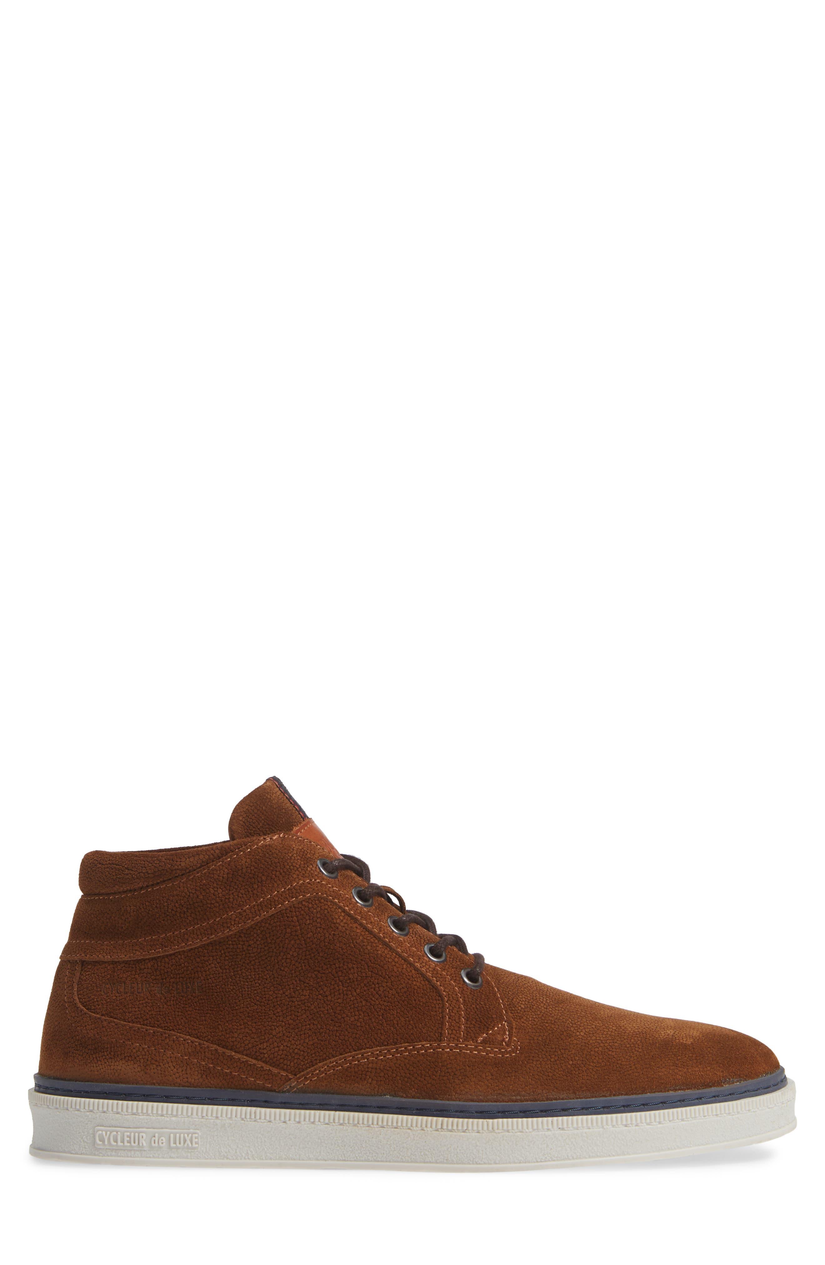 Bilbao Sneaker,                             Alternate thumbnail 3, color,                             COGNAC