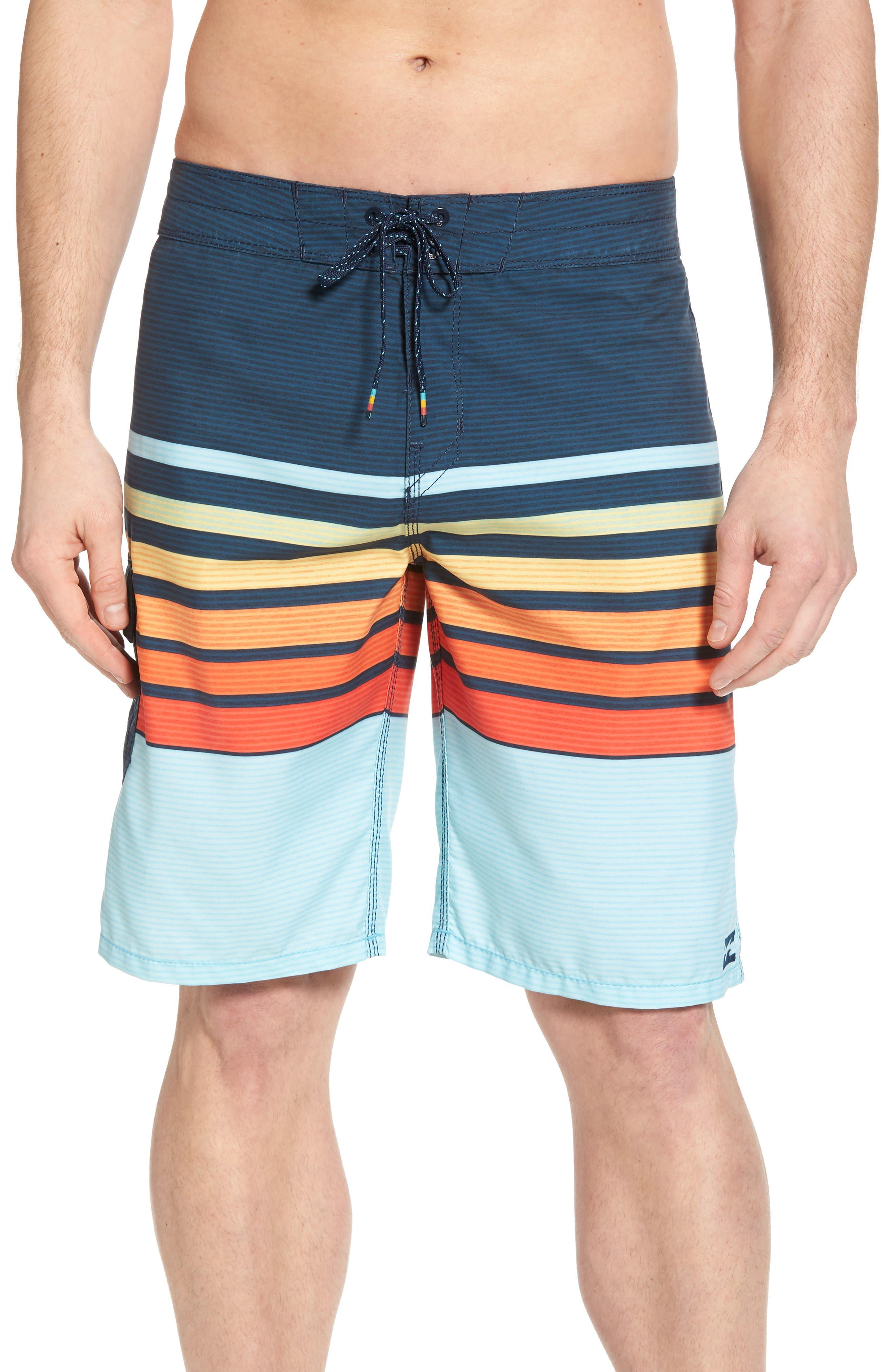 All Day OG Stripe Board Shorts,                             Main thumbnail 3, color,