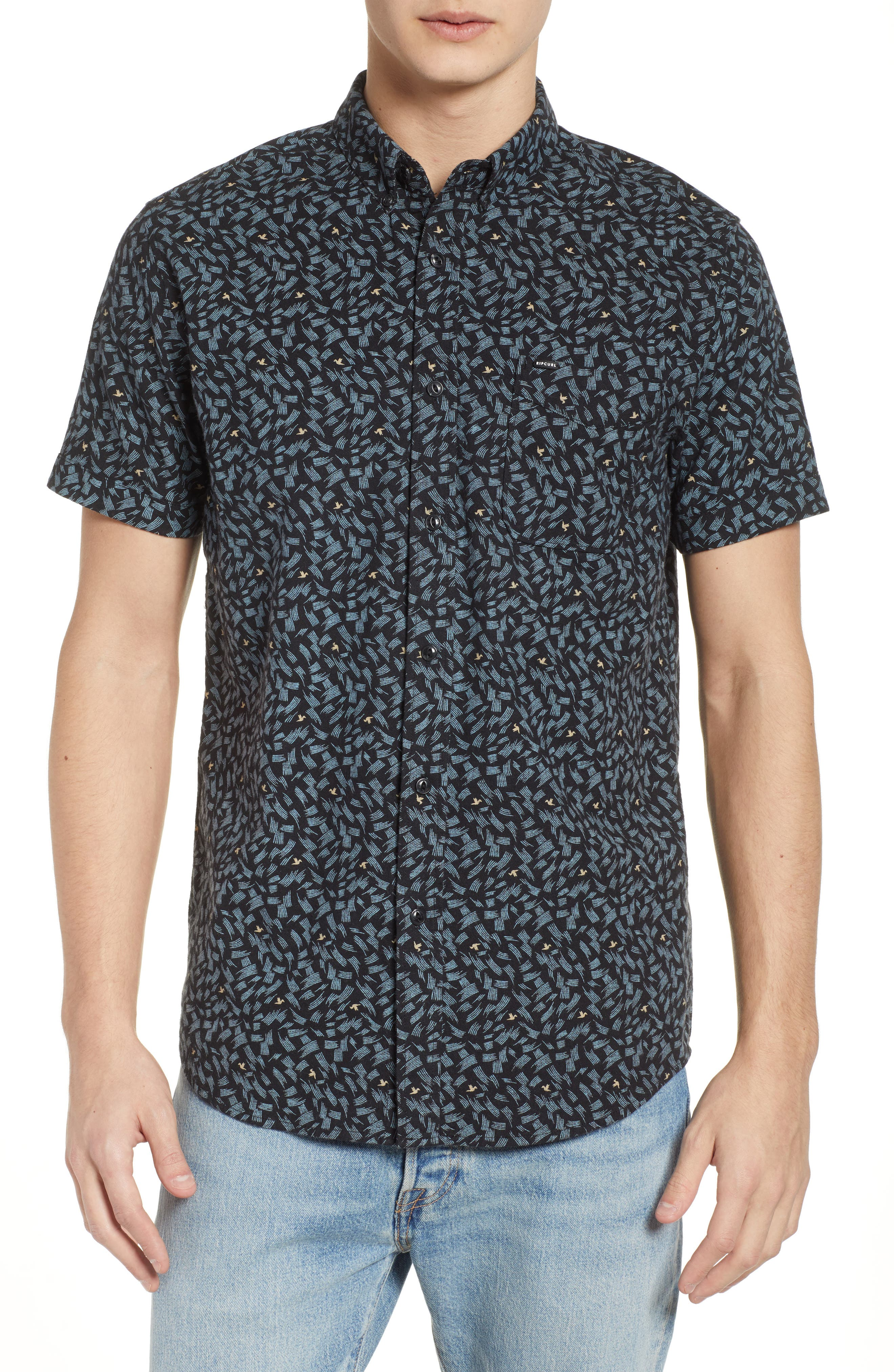 Northern Short Sleeve Shirt,                             Main thumbnail 1, color,                             001