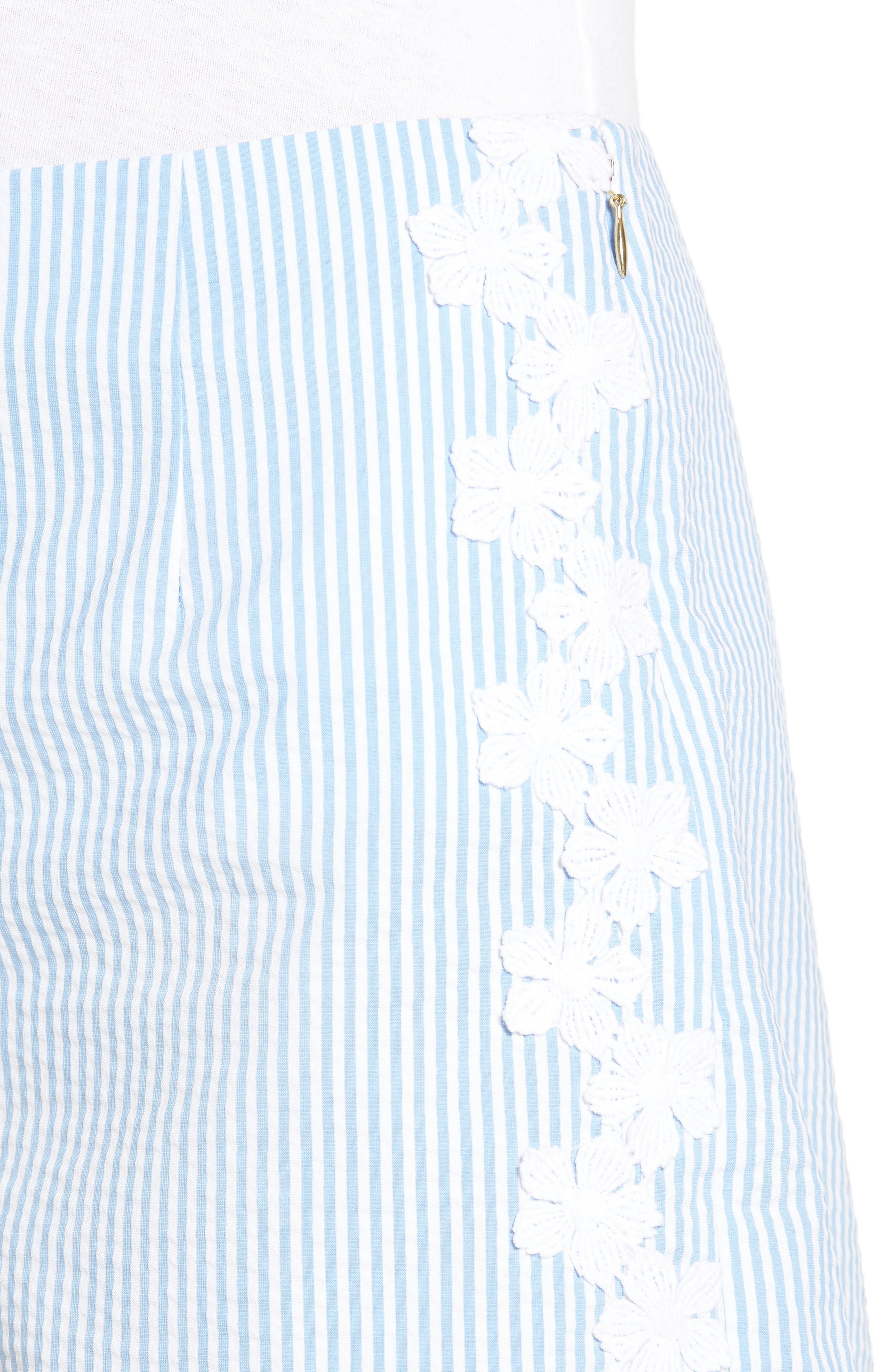 Seersucker Shorts,                             Alternate thumbnail 4, color,                             403