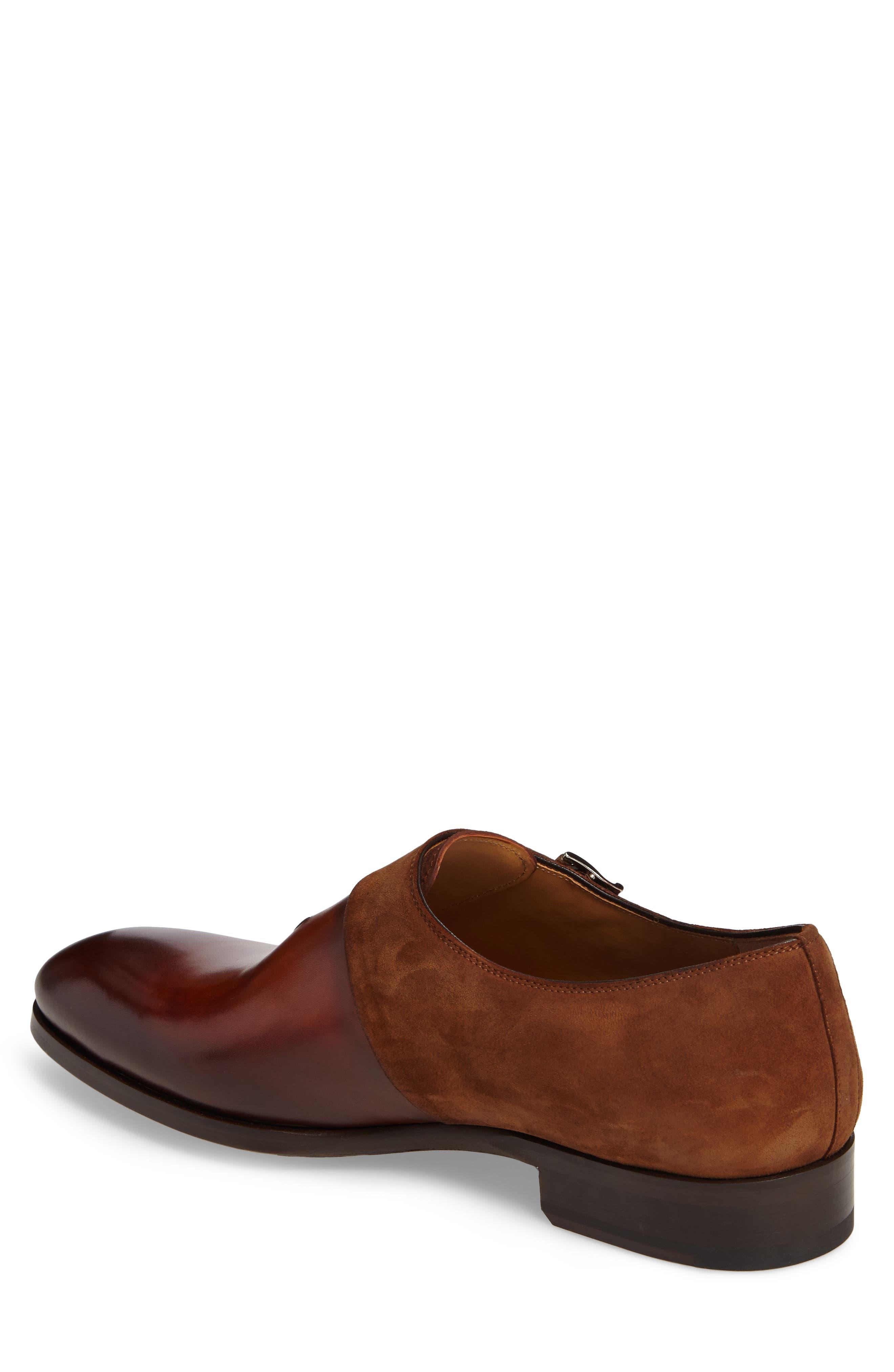 Orville Double Monk Strap Shoe,                             Alternate thumbnail 2, color,                             219