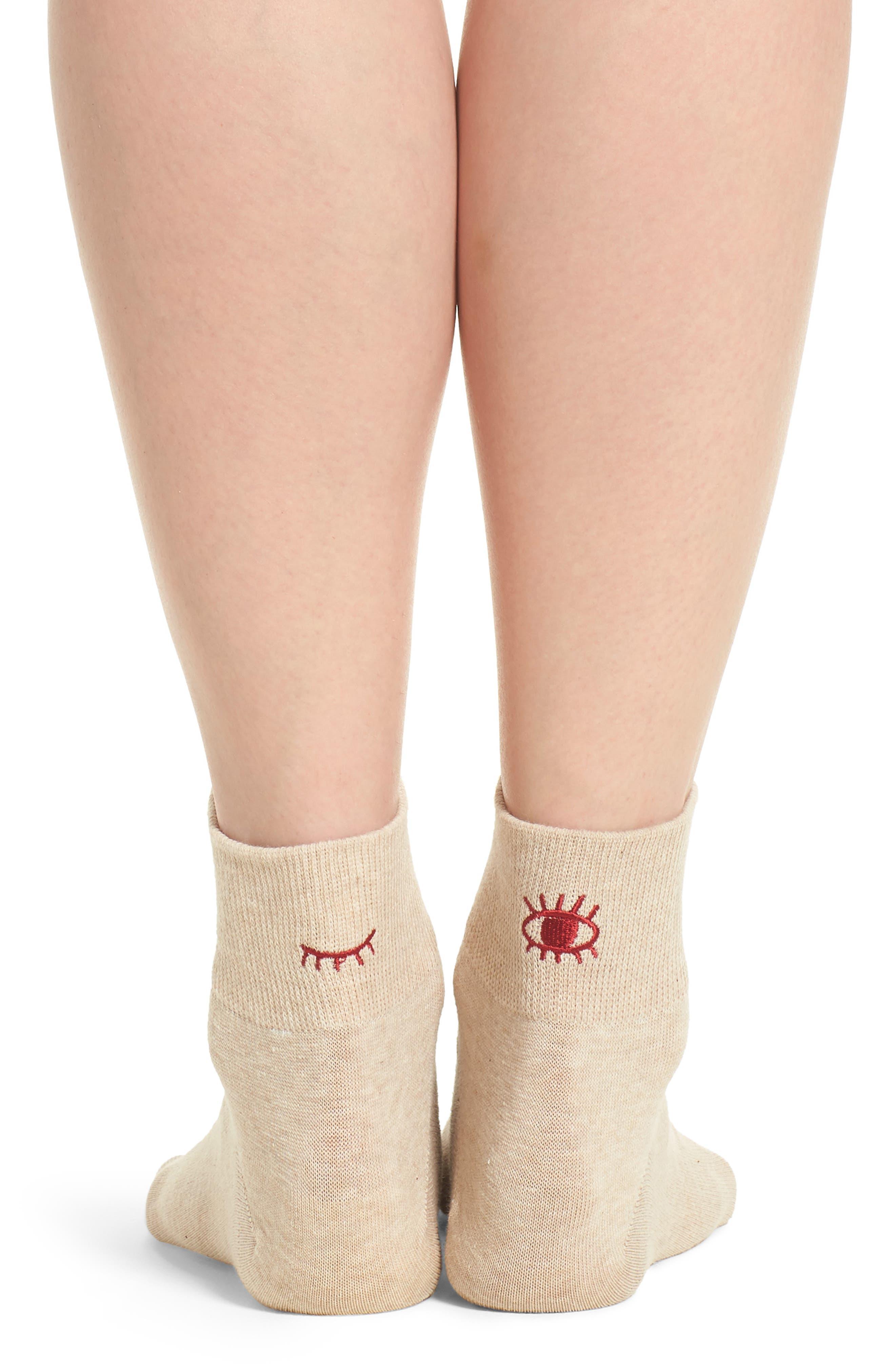 Blink Ankle Socks,                             Alternate thumbnail 6, color,