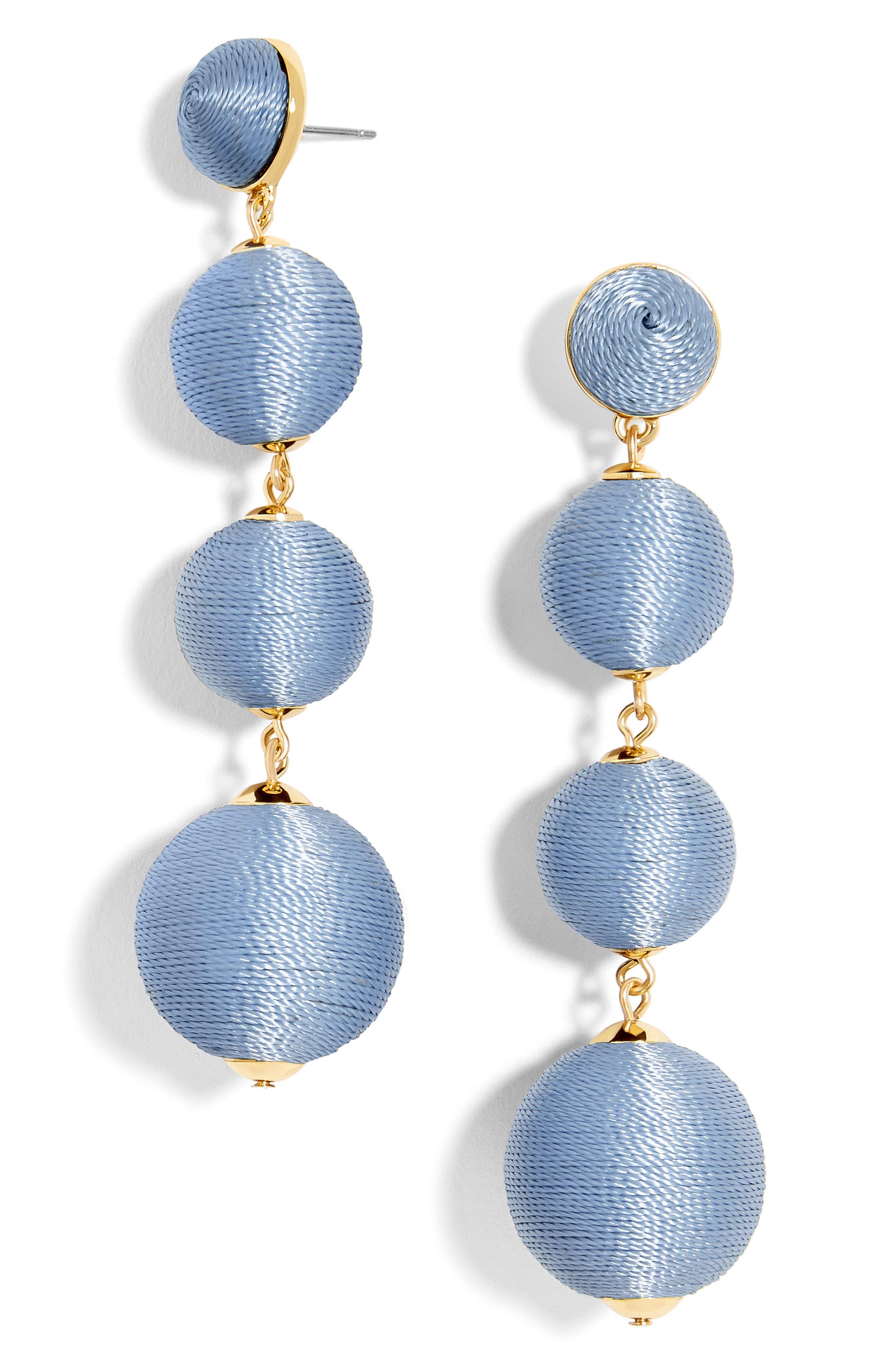 Criselda Ball Shoulder Duster Earrings,                             Main thumbnail 6, color,