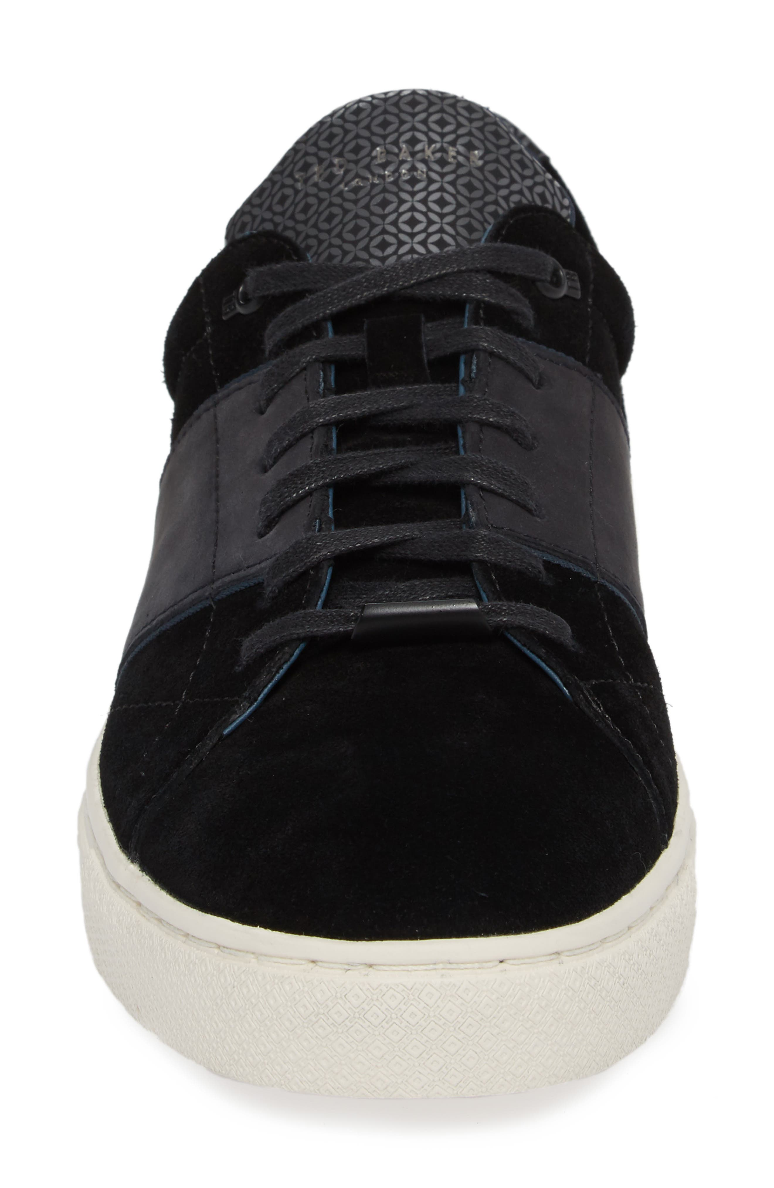 Dannez Low Top Sneaker,                             Alternate thumbnail 4, color,                             001