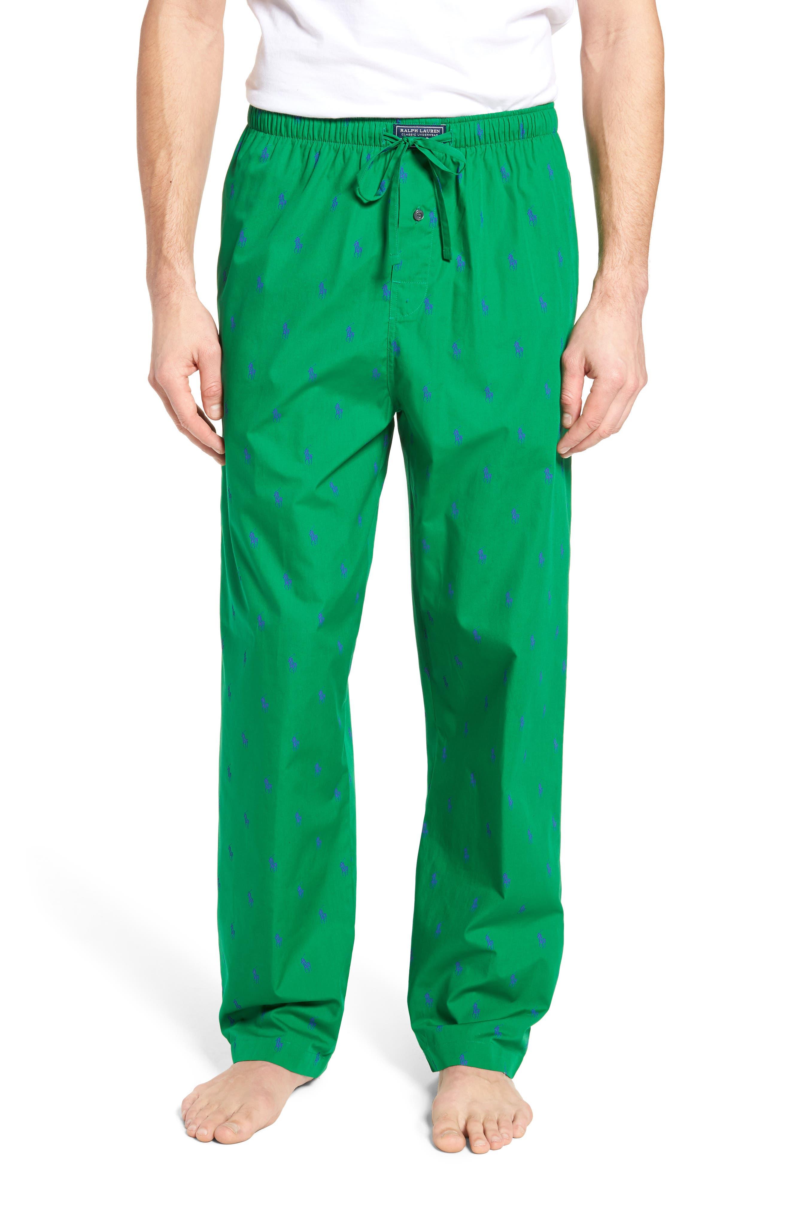 Polo Ralph Lauren Cotton Lounge Pants,                             Main thumbnail 2, color,