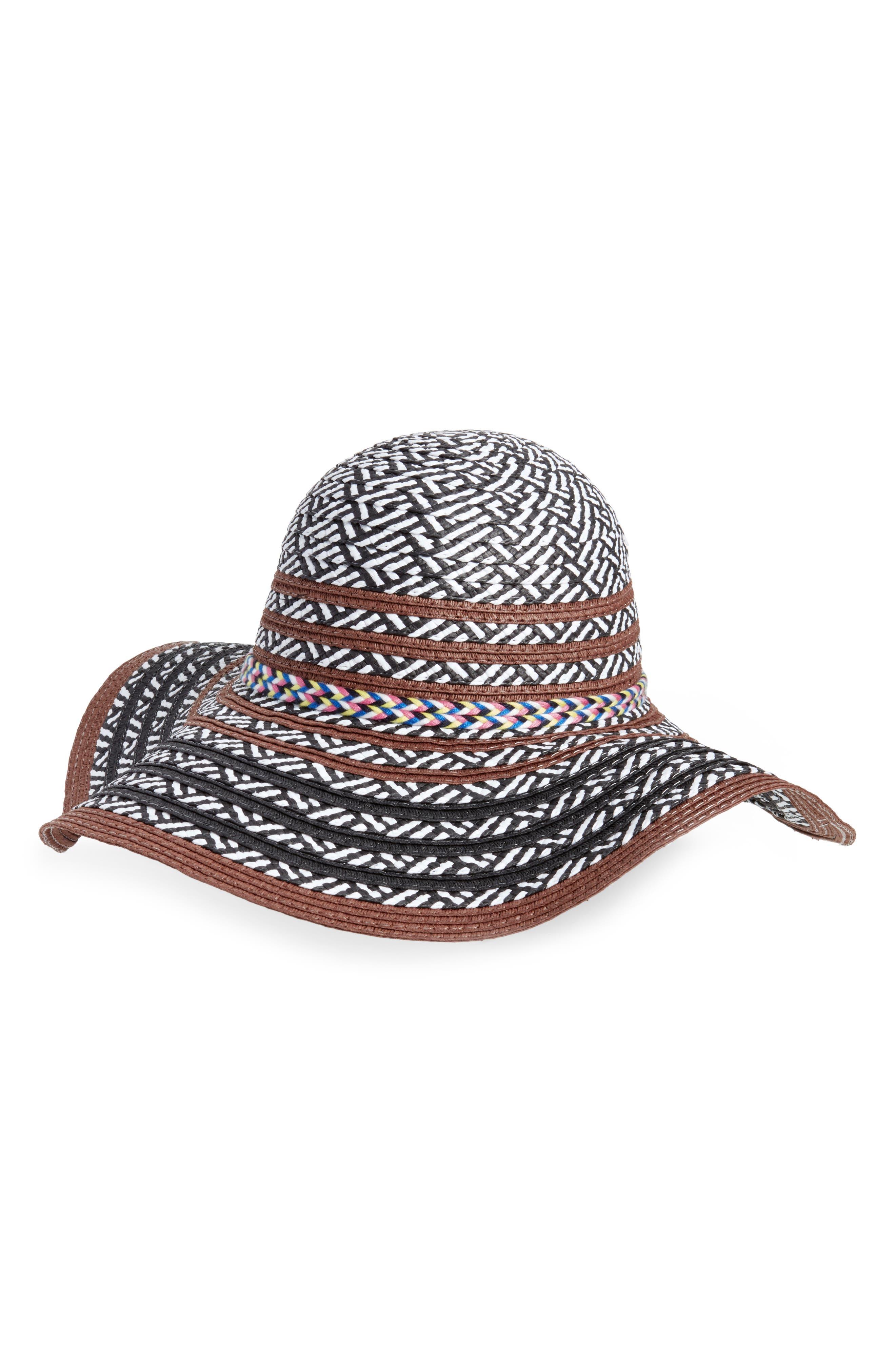 Beach Party Floppy Hat,                         Main,                         color,