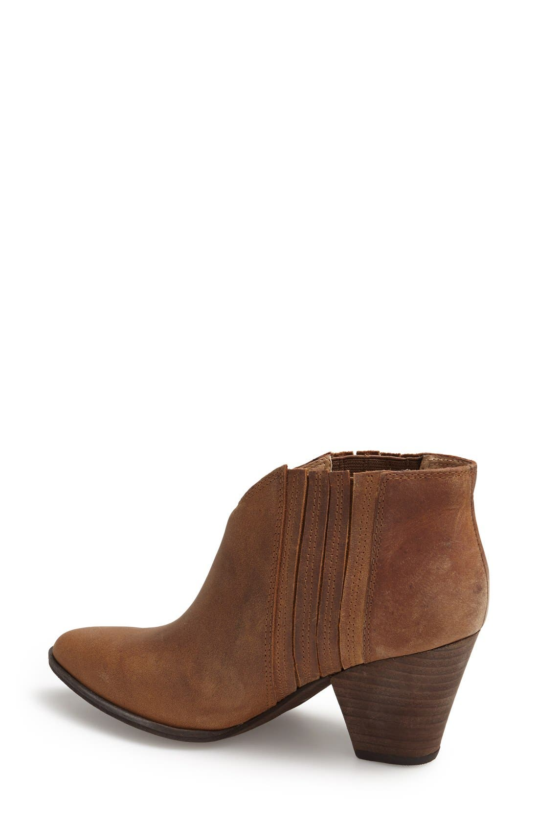 'Addie' Pointy Toe Ankle Bootie,                             Alternate thumbnail 16, color,