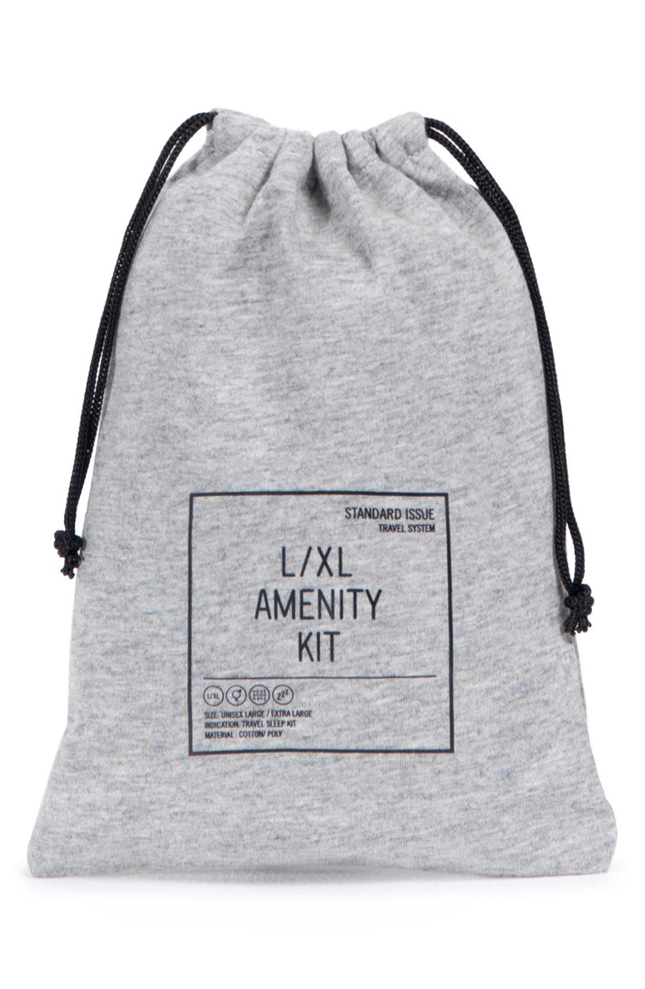 Amenity Kit,                             Alternate thumbnail 4, color,                             HEATHERED GREY