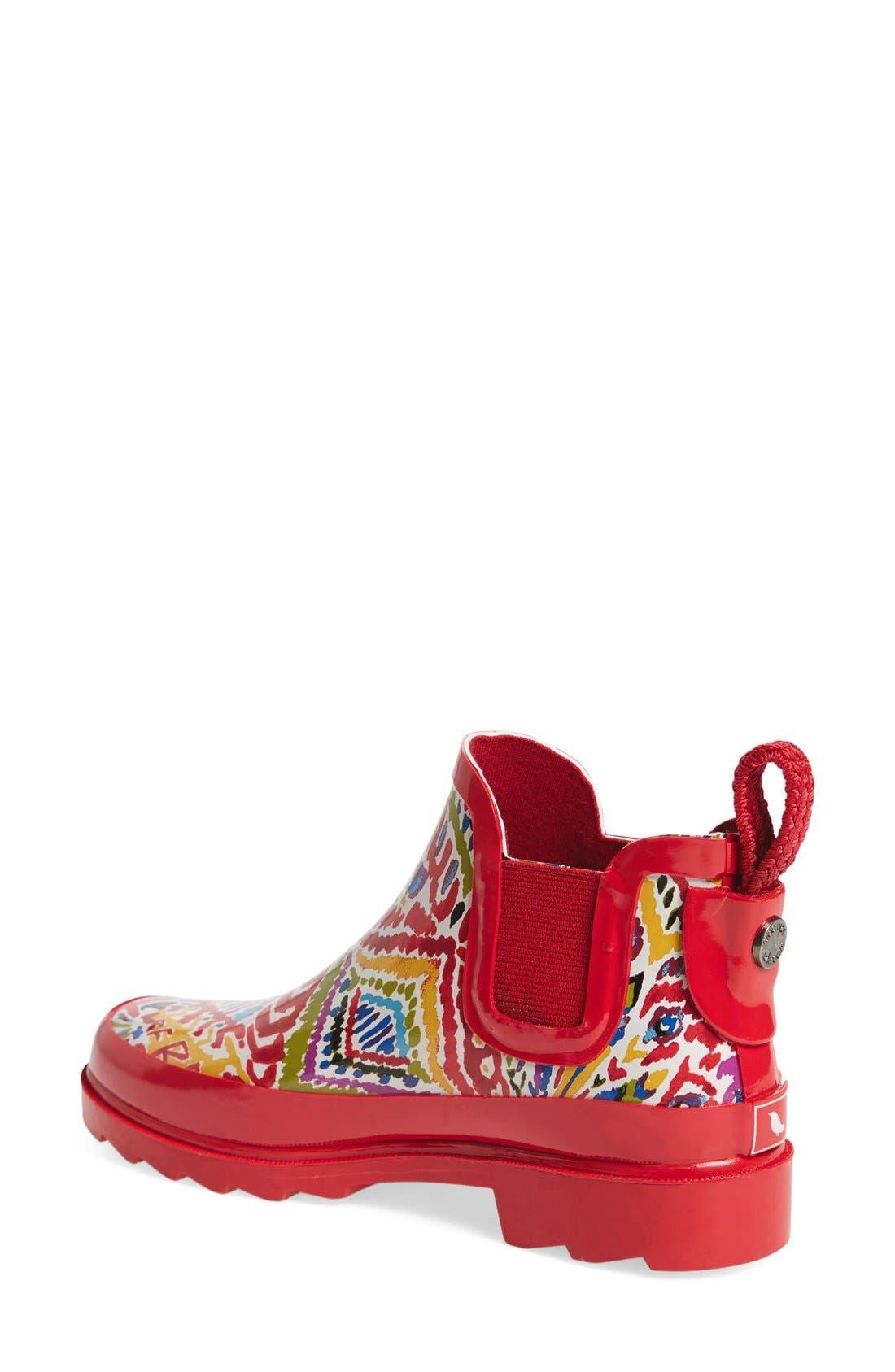 'Rhyme' Waterproof Rain Boot,                             Alternate thumbnail 38, color,