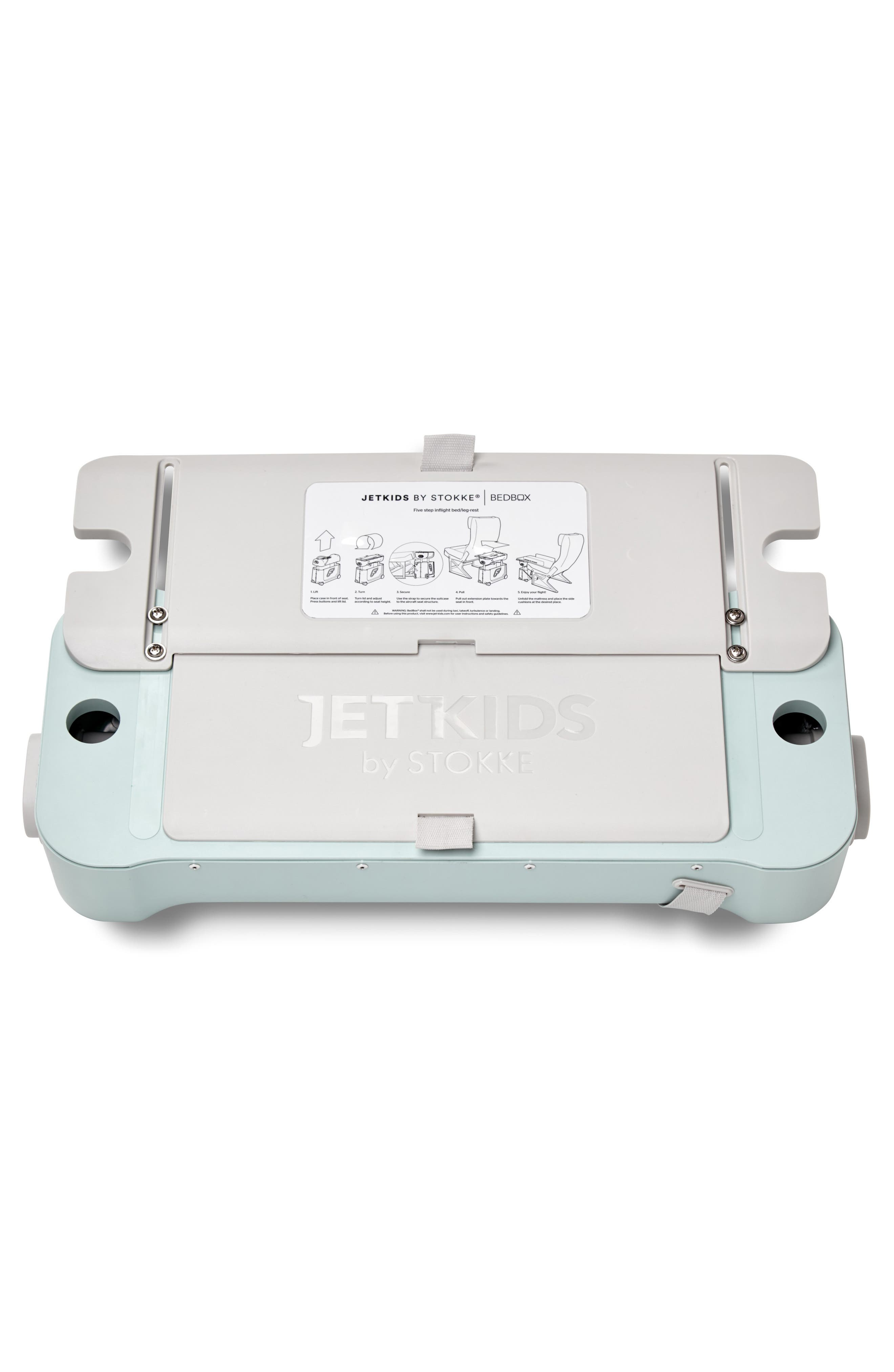 Jetkids by Stokke Bedbox<sup>®</sup> Ride-On Carry-On Suitcase,                             Alternate thumbnail 2, color,                             GREEN