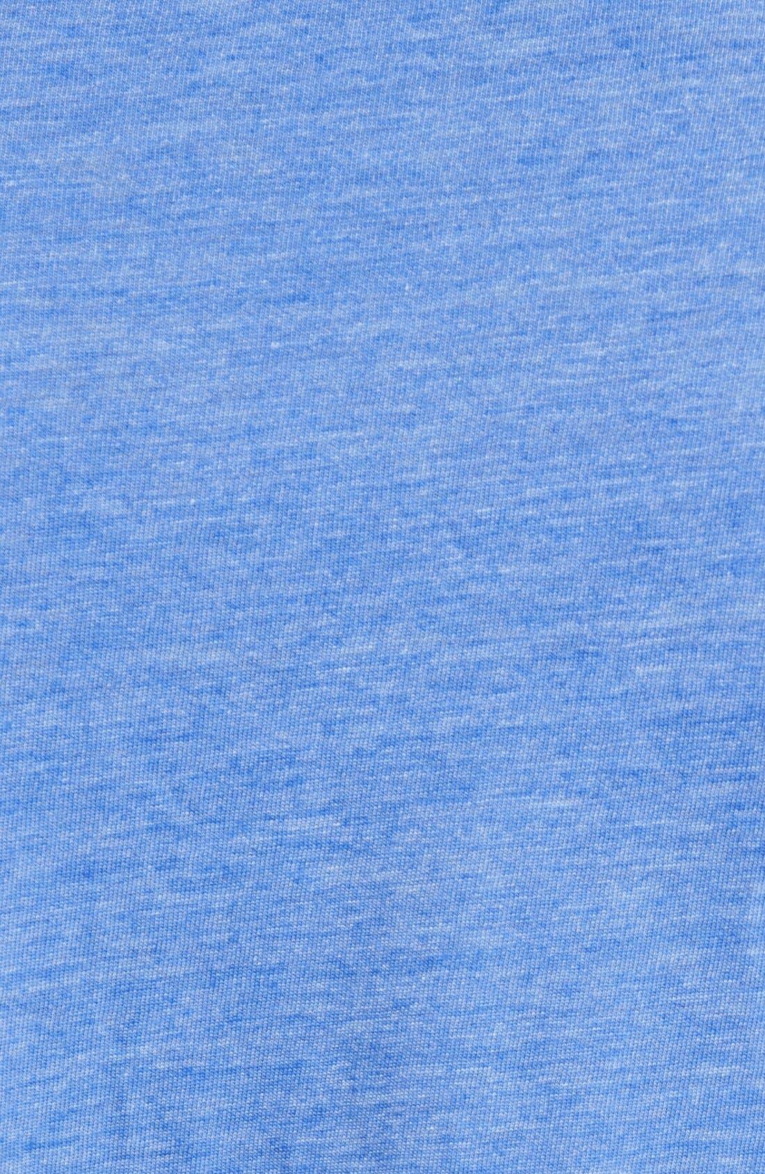 Scallop Triblend Crewneck T-Shirt,                             Alternate thumbnail 65, color,
