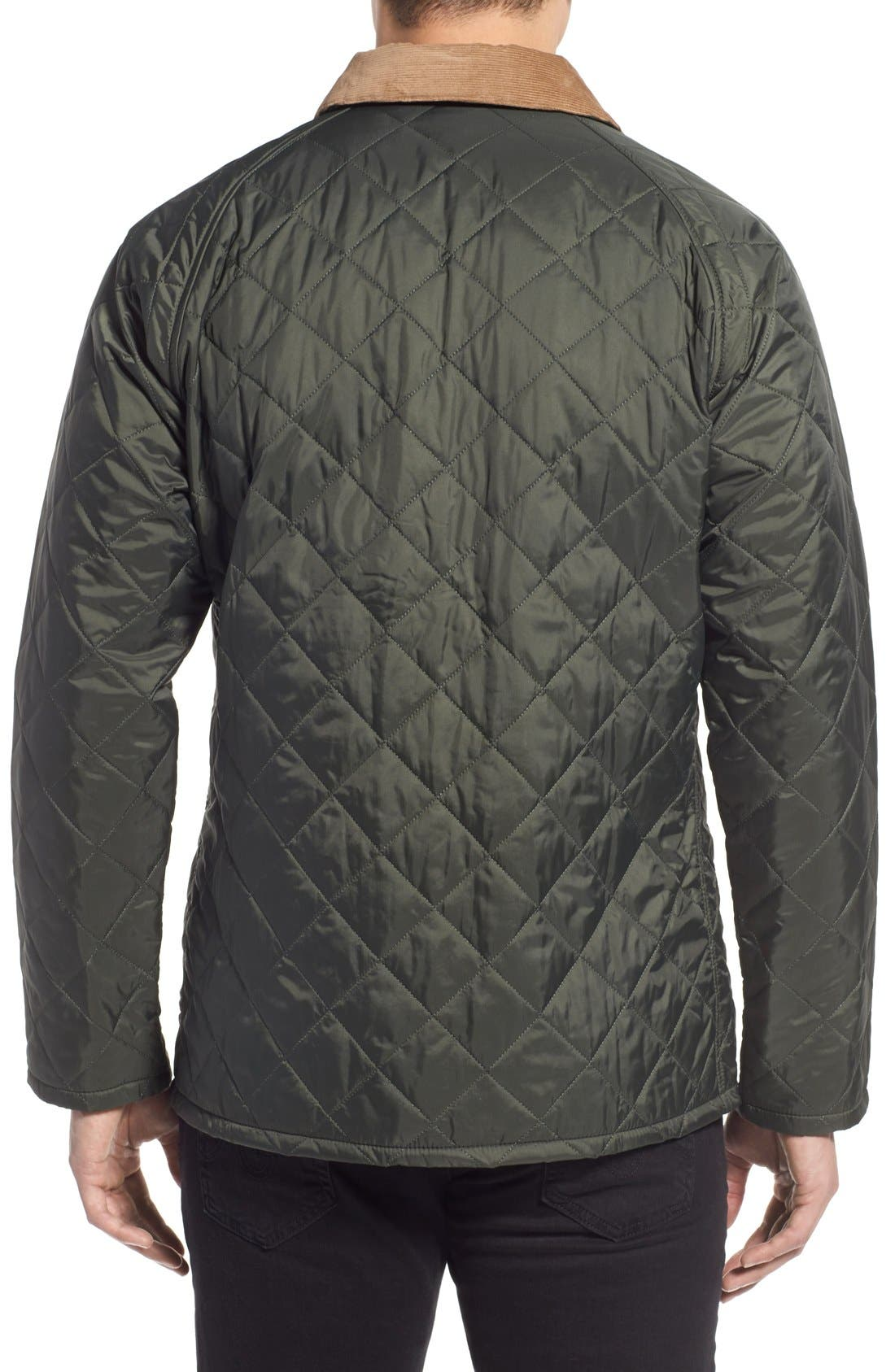 'Canterdale' Slim Fit Water-Resistant Diamond Quilted Jacket,                             Alternate thumbnail 8, color,                             305