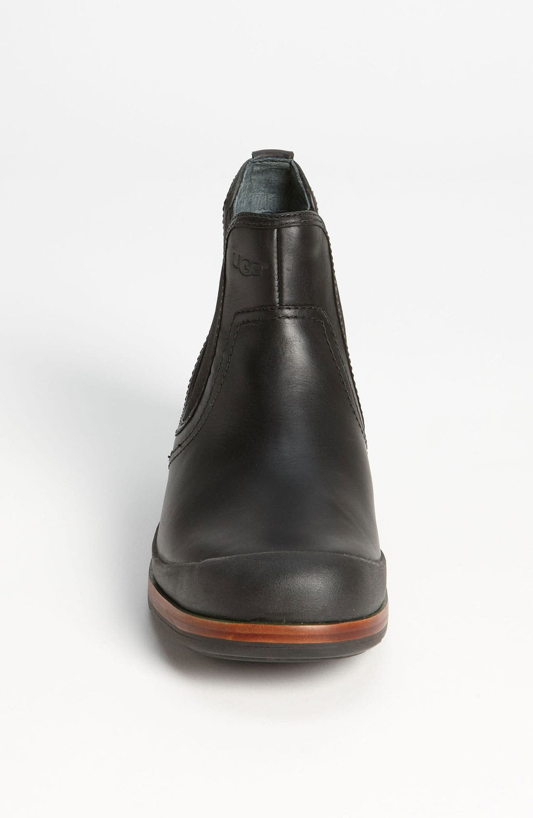 Australia 'Matteson' Chelsea Boot,                             Alternate thumbnail 3, color,                             001