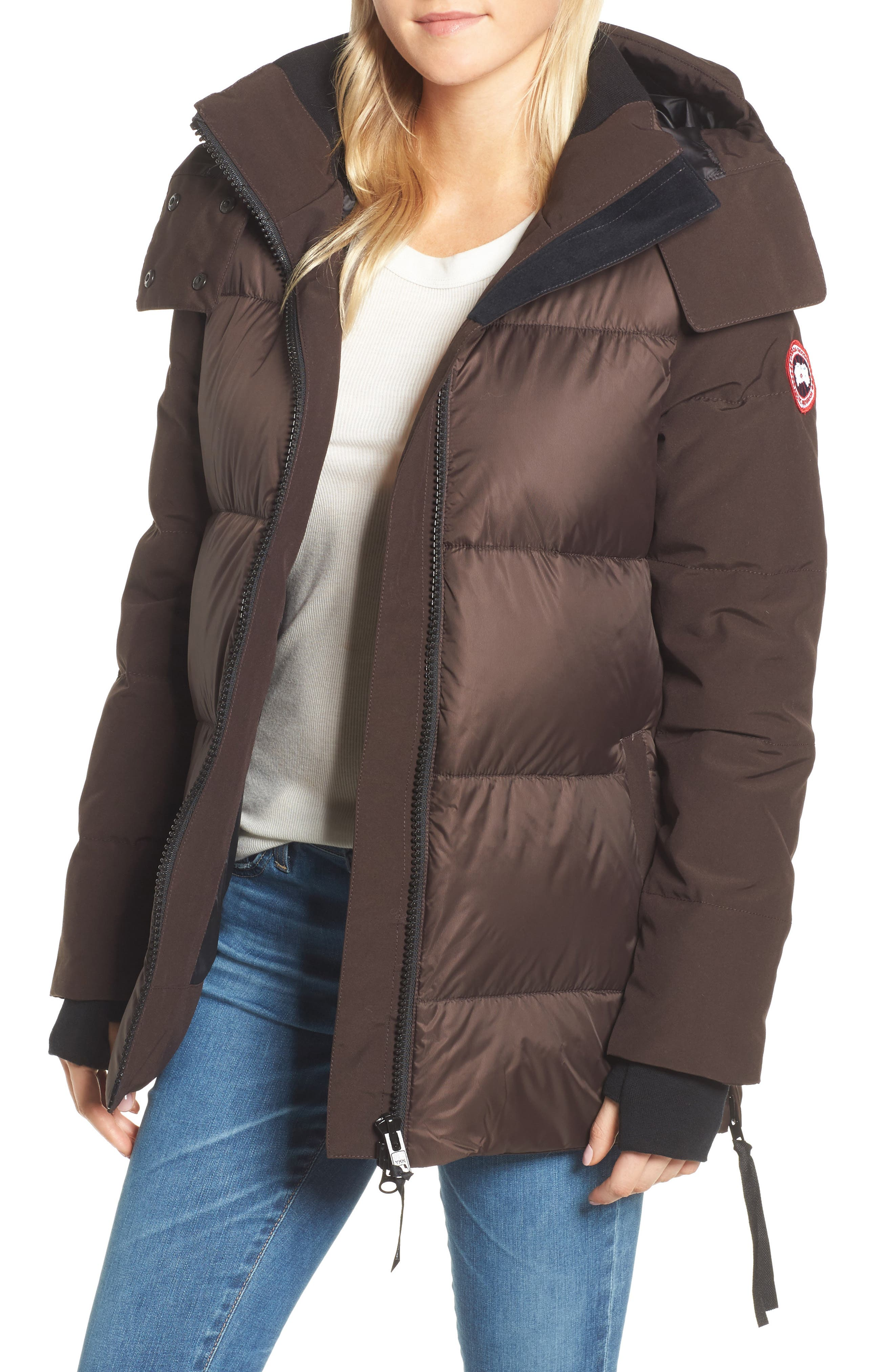 Whitehorse Hooded Water Resistant 675-Fill-Power Down Parka,                             Main thumbnail 3, color,