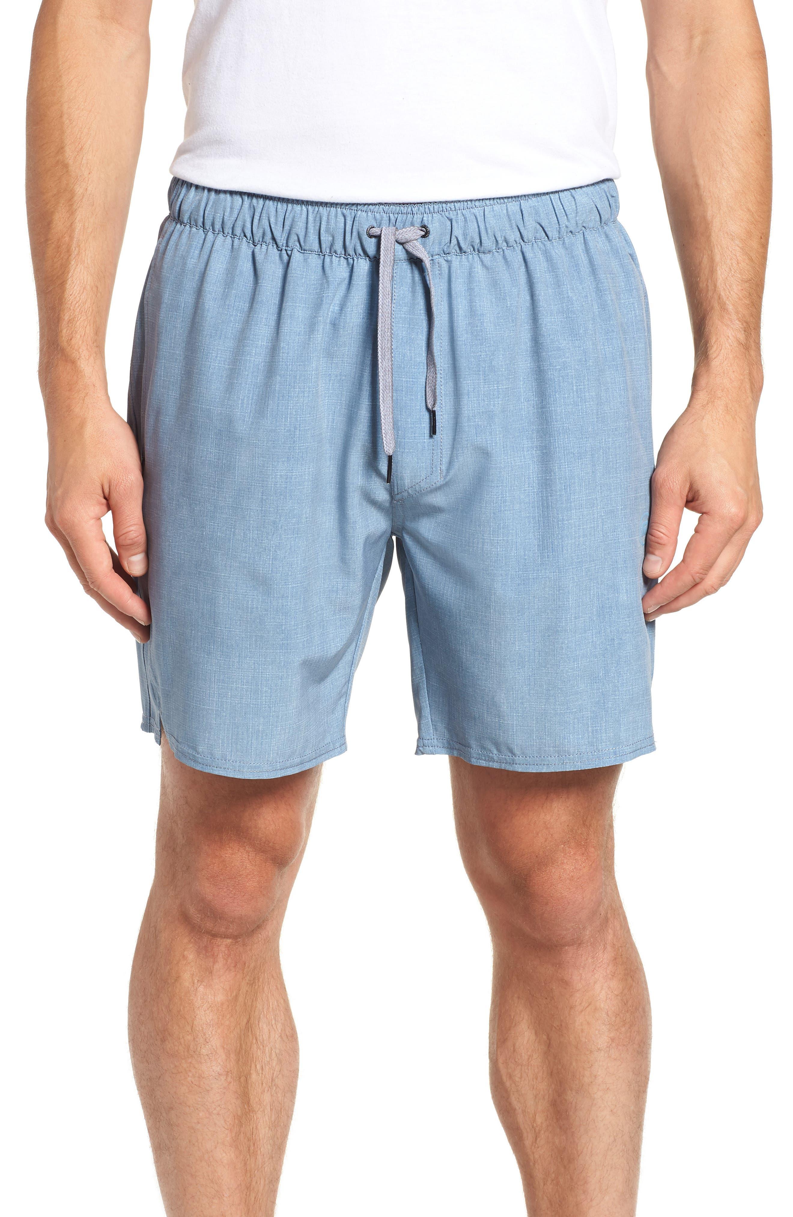 Digits Shorts,                         Main,                         color, HEATHER SHARKSKIN
