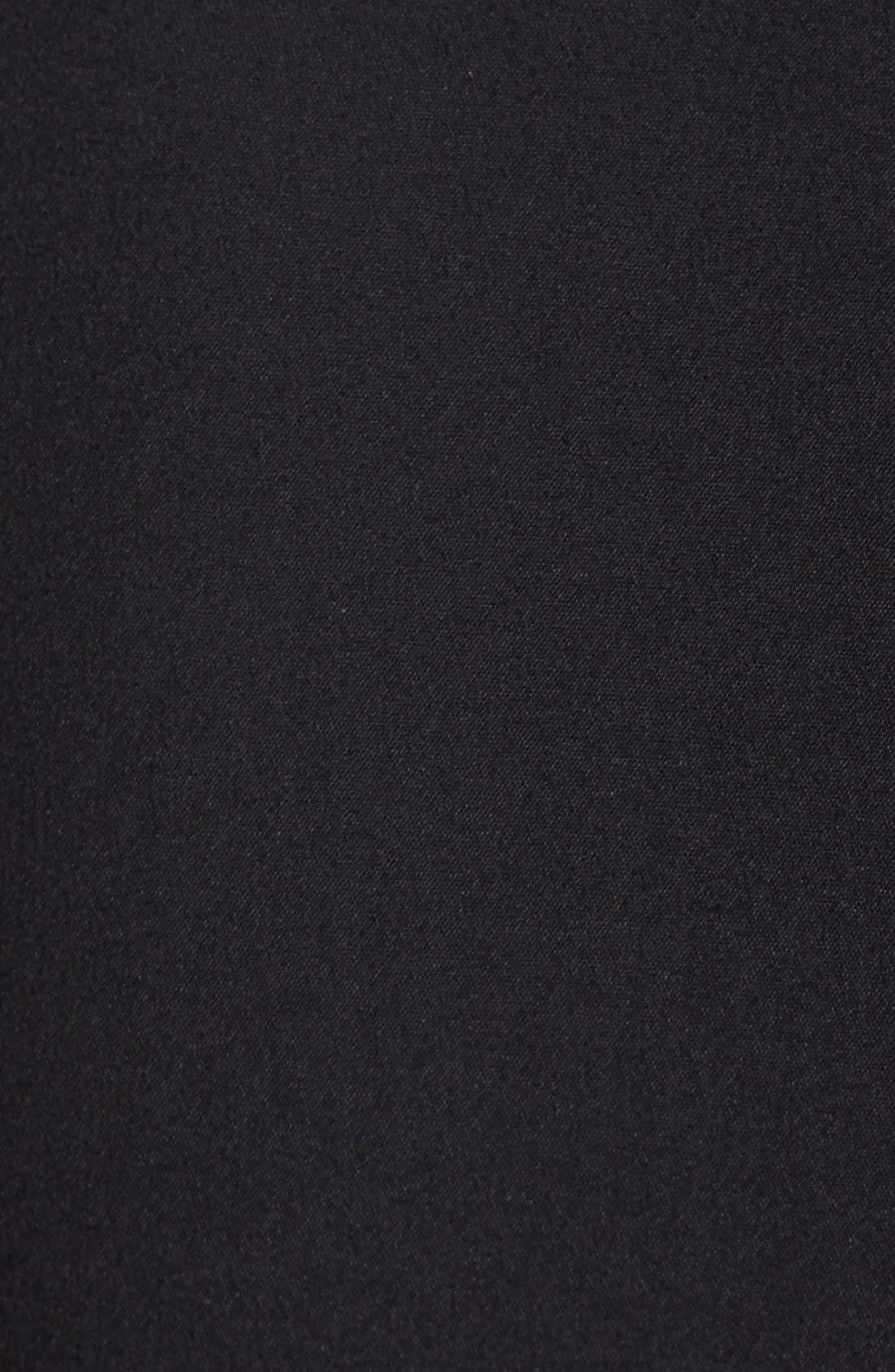 'Lolo' Stretch Sheath Dress,                             Alternate thumbnail 12, color,                             BLACK