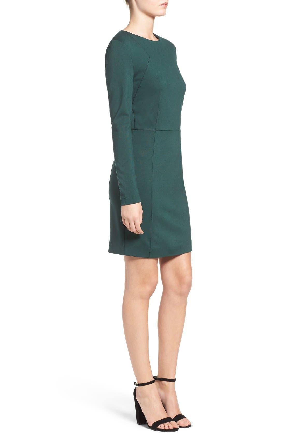 Lula Stretch Sheath Dress,                             Alternate thumbnail 7, color,