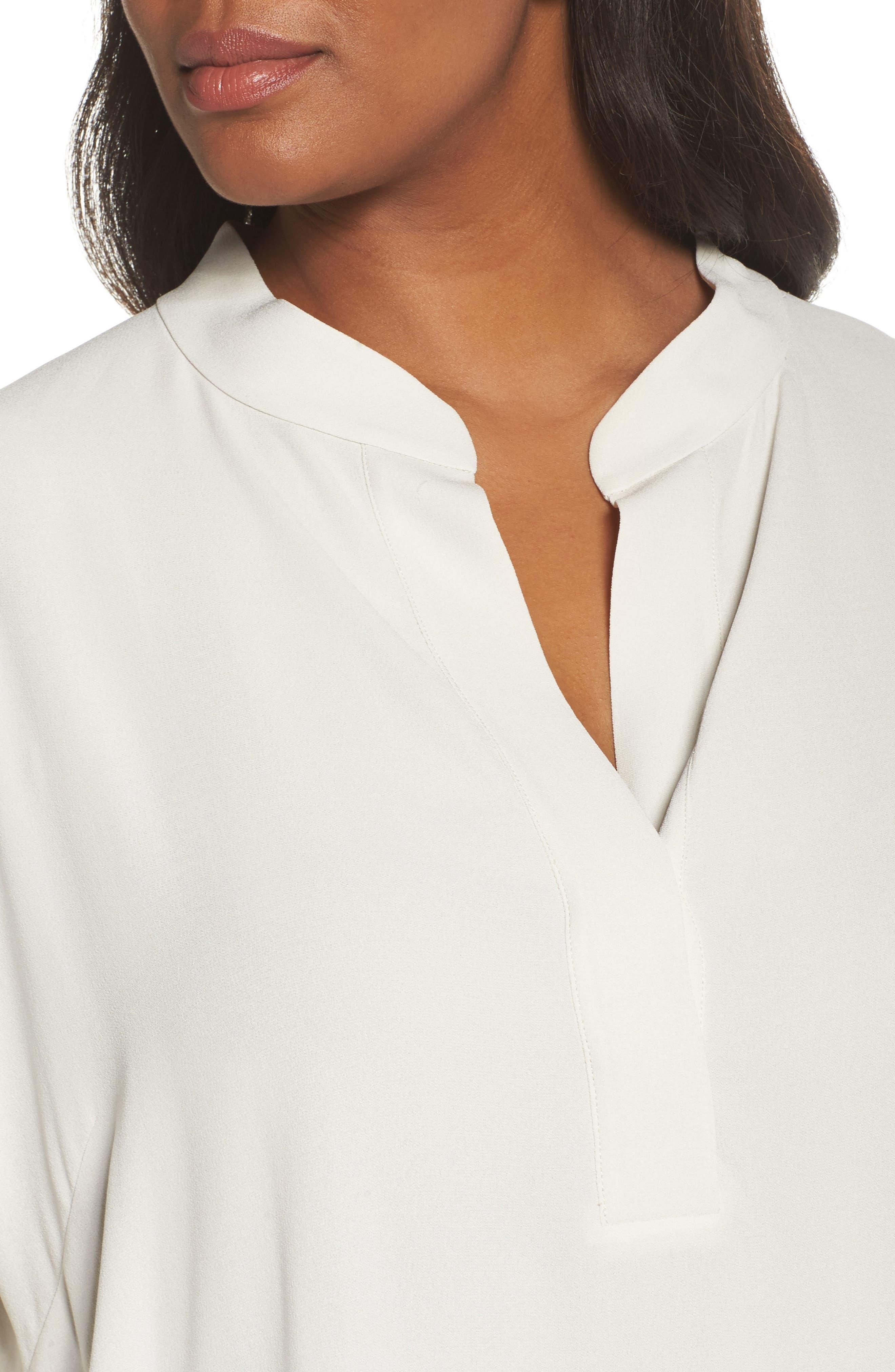 Silk Shirt,                             Alternate thumbnail 4, color,                             907