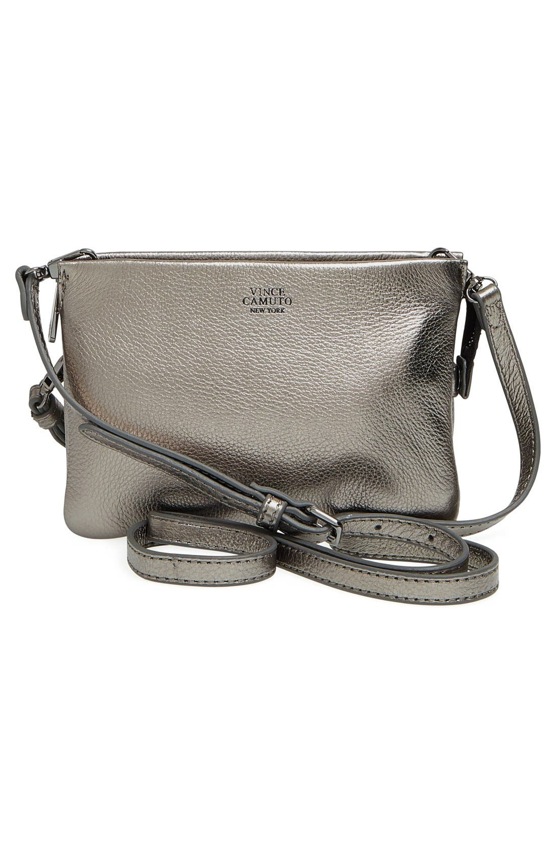 'Cami' Leather Crossbody Bag,                             Alternate thumbnail 74, color,