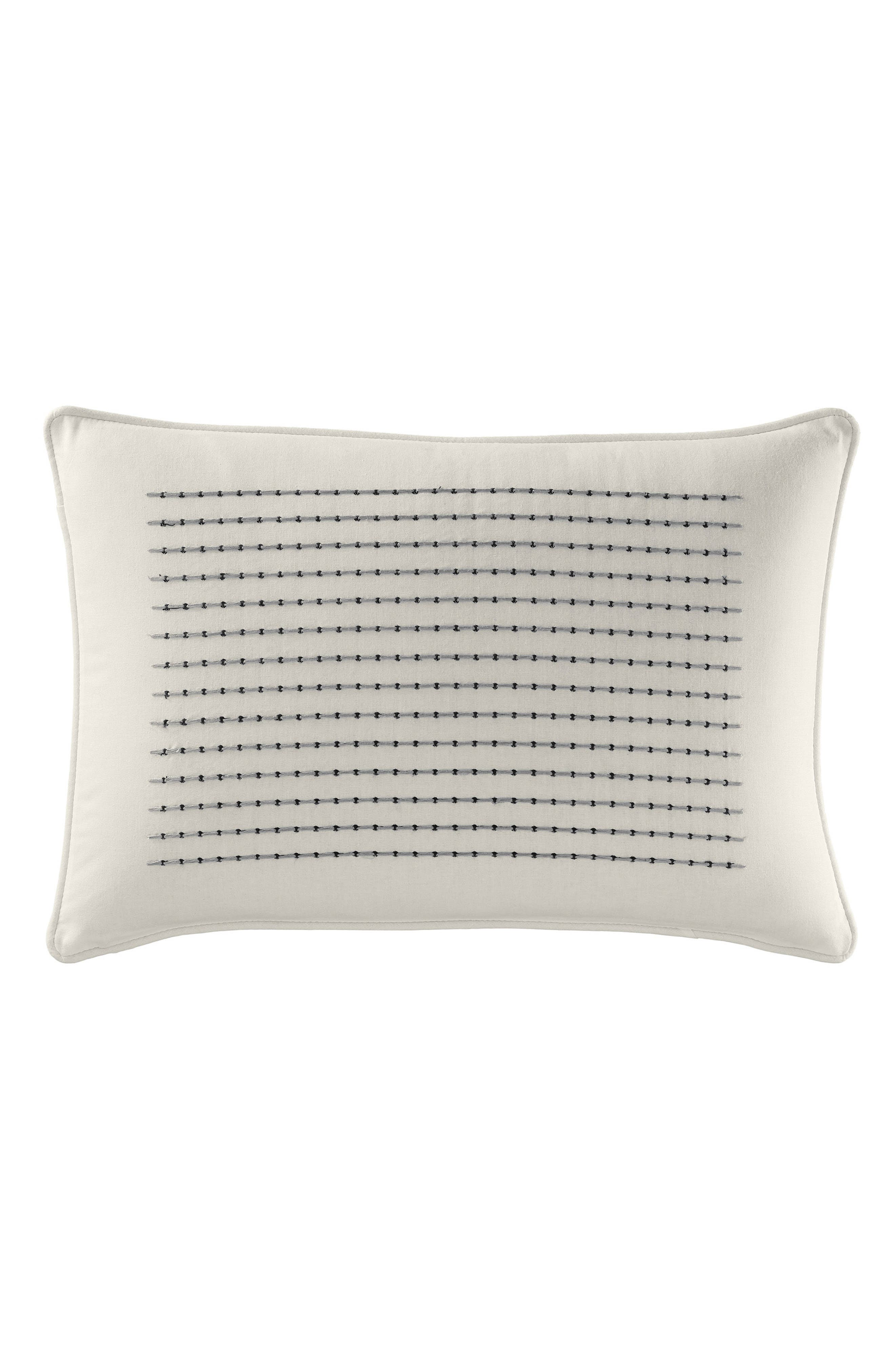 Caldwell Embroidered Pillow,                             Alternate thumbnail 2, color,                             100