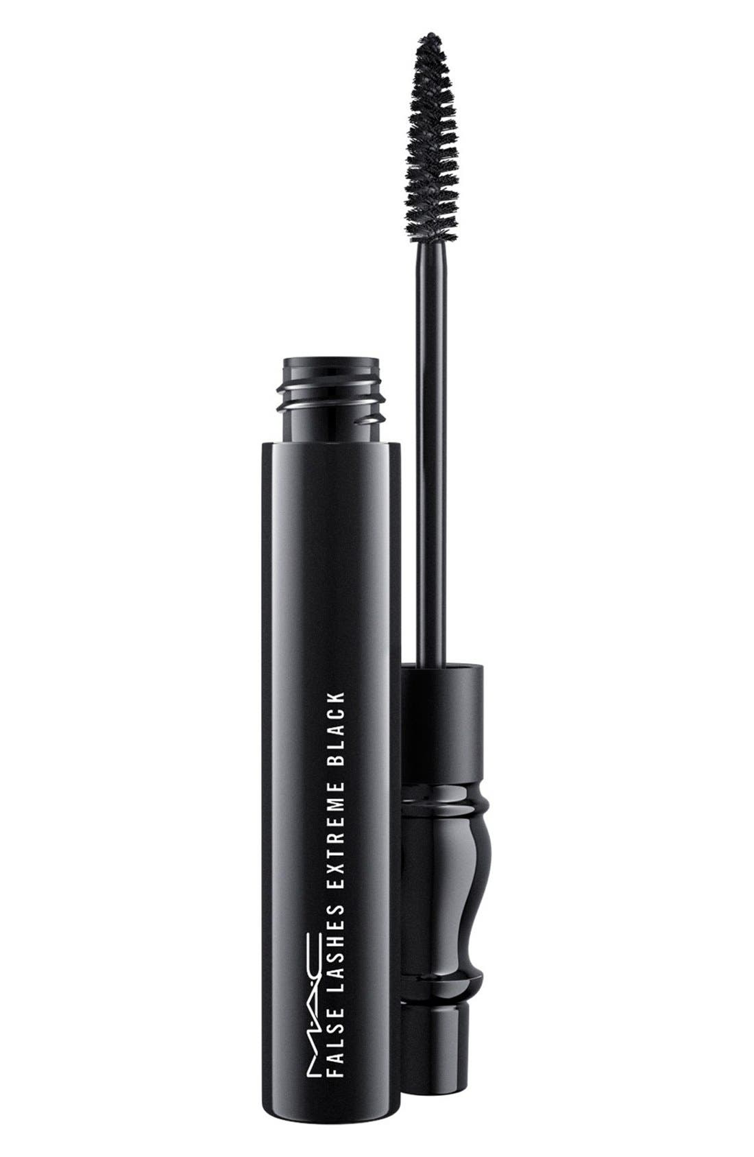 MAC COSMETICS,                             MAC False Lashes Mascara,                             Main thumbnail 1, color,                             001