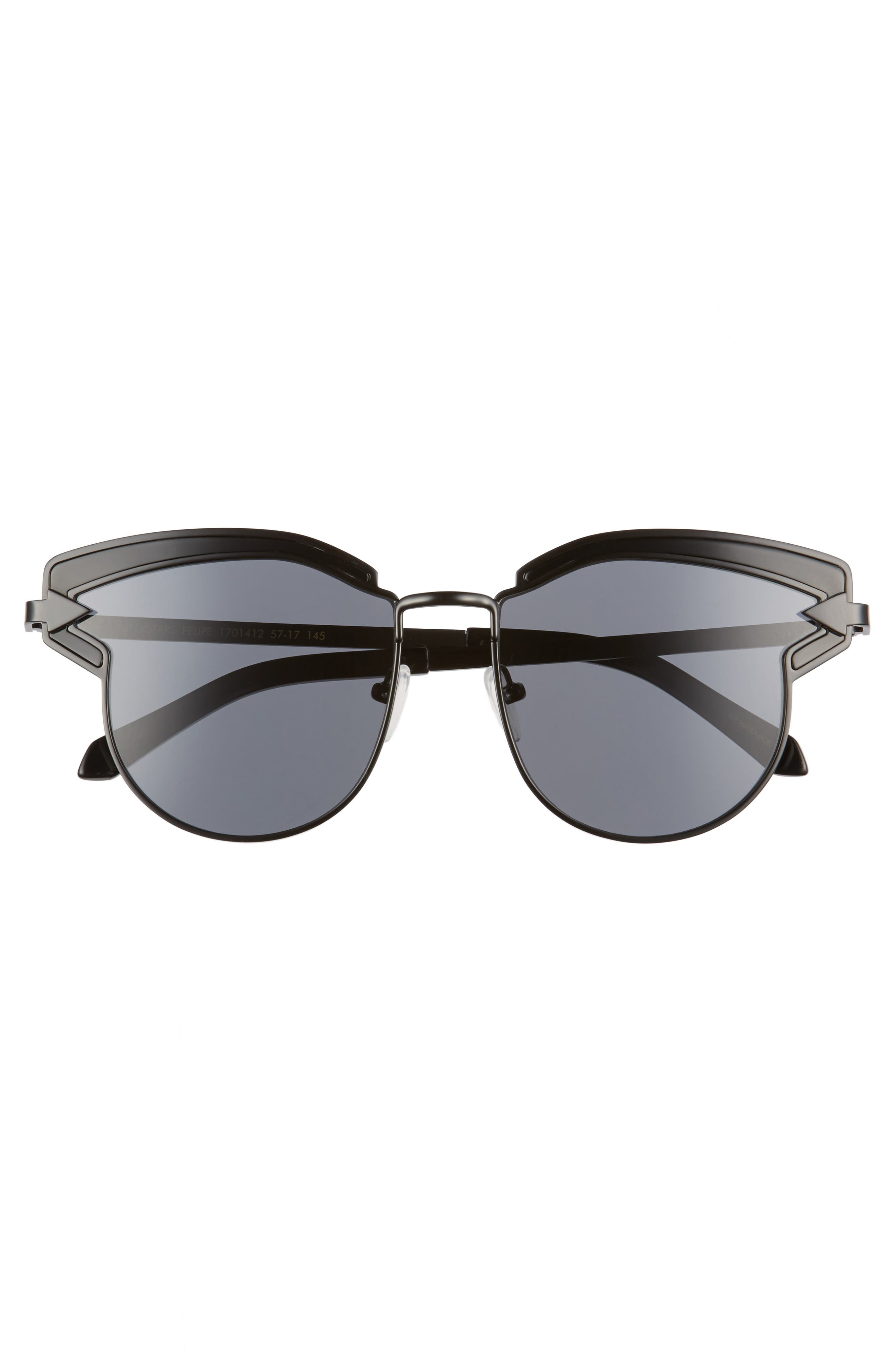 Buccaneer 47mm Round Sunglasses,                             Alternate thumbnail 7, color,