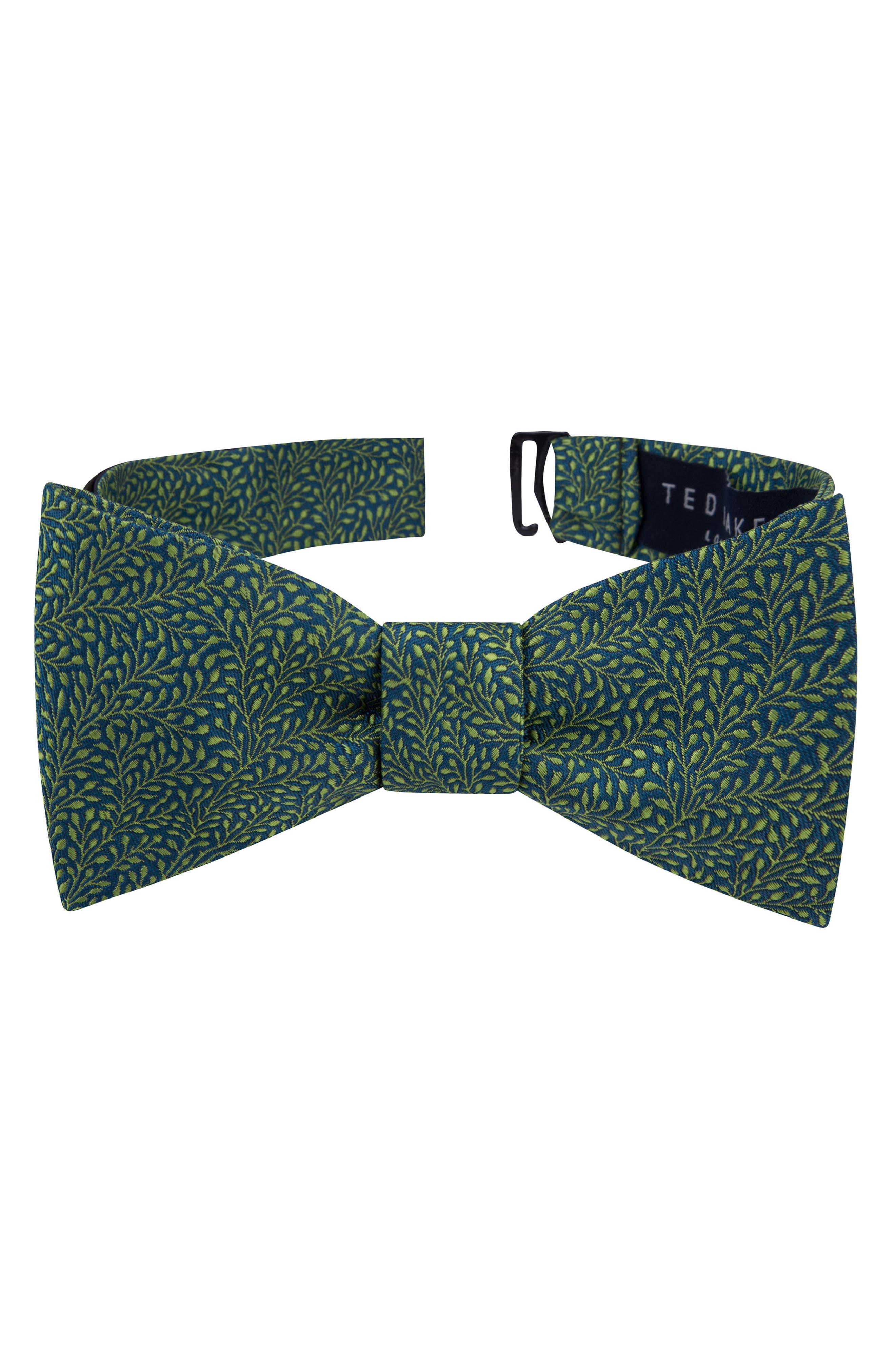 Grand Botanical Silk Bow Tie,                             Main thumbnail 1, color,                             300