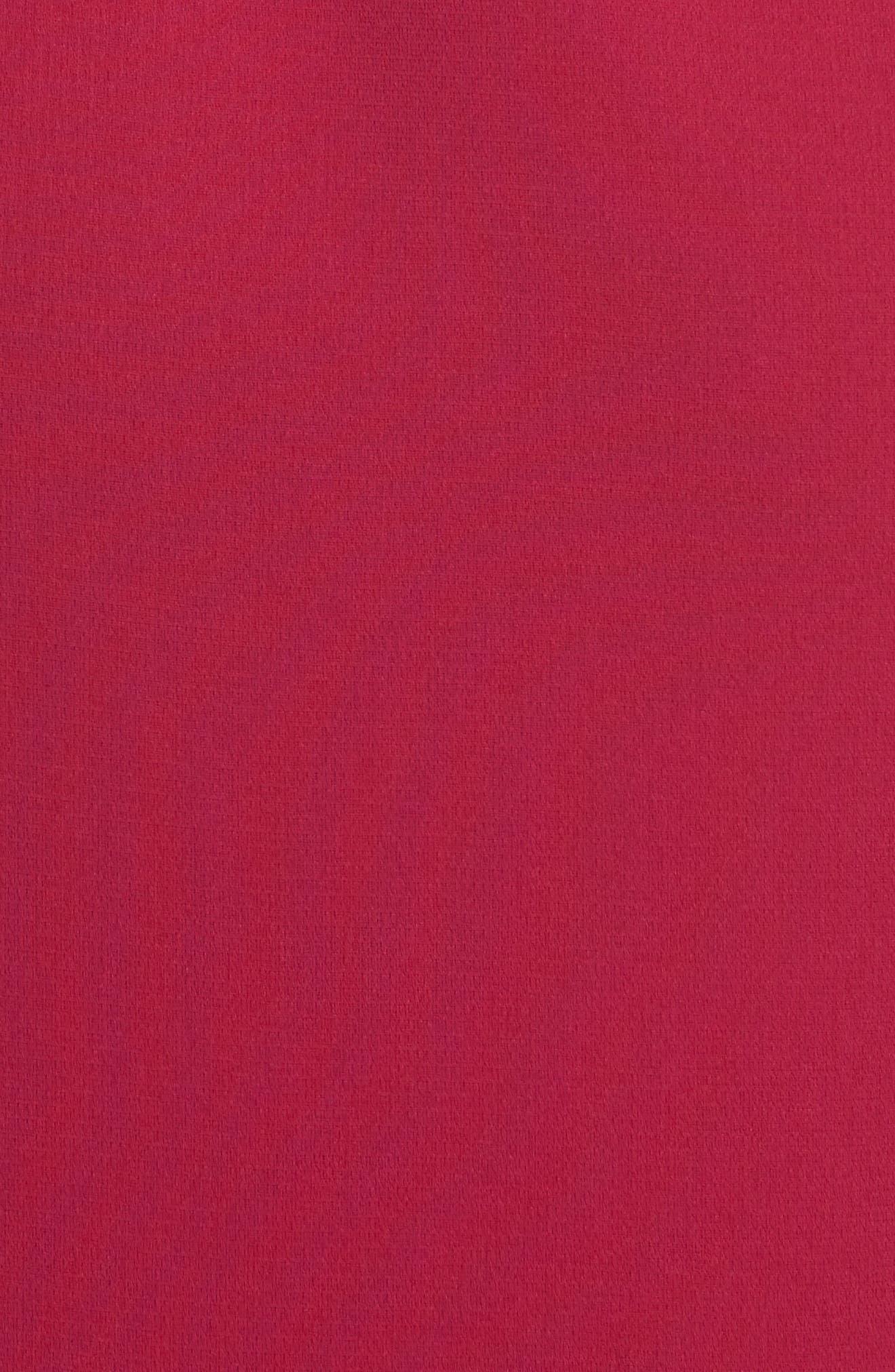 Ezana Ruffle Strapless Mermaid Dress,                             Alternate thumbnail 5, color,                             698