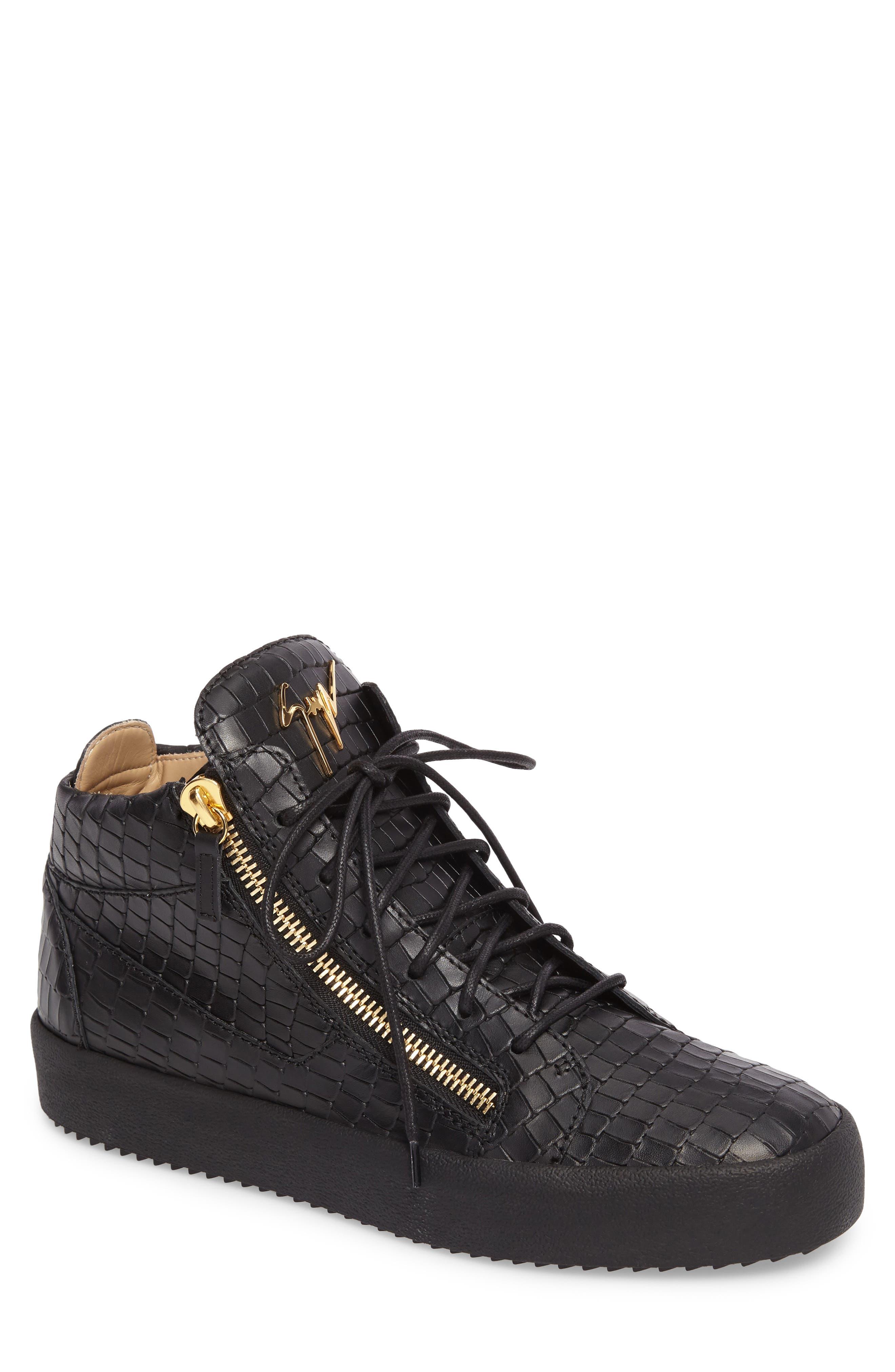 High-Top Sneaker,                         Main,                         color, 001