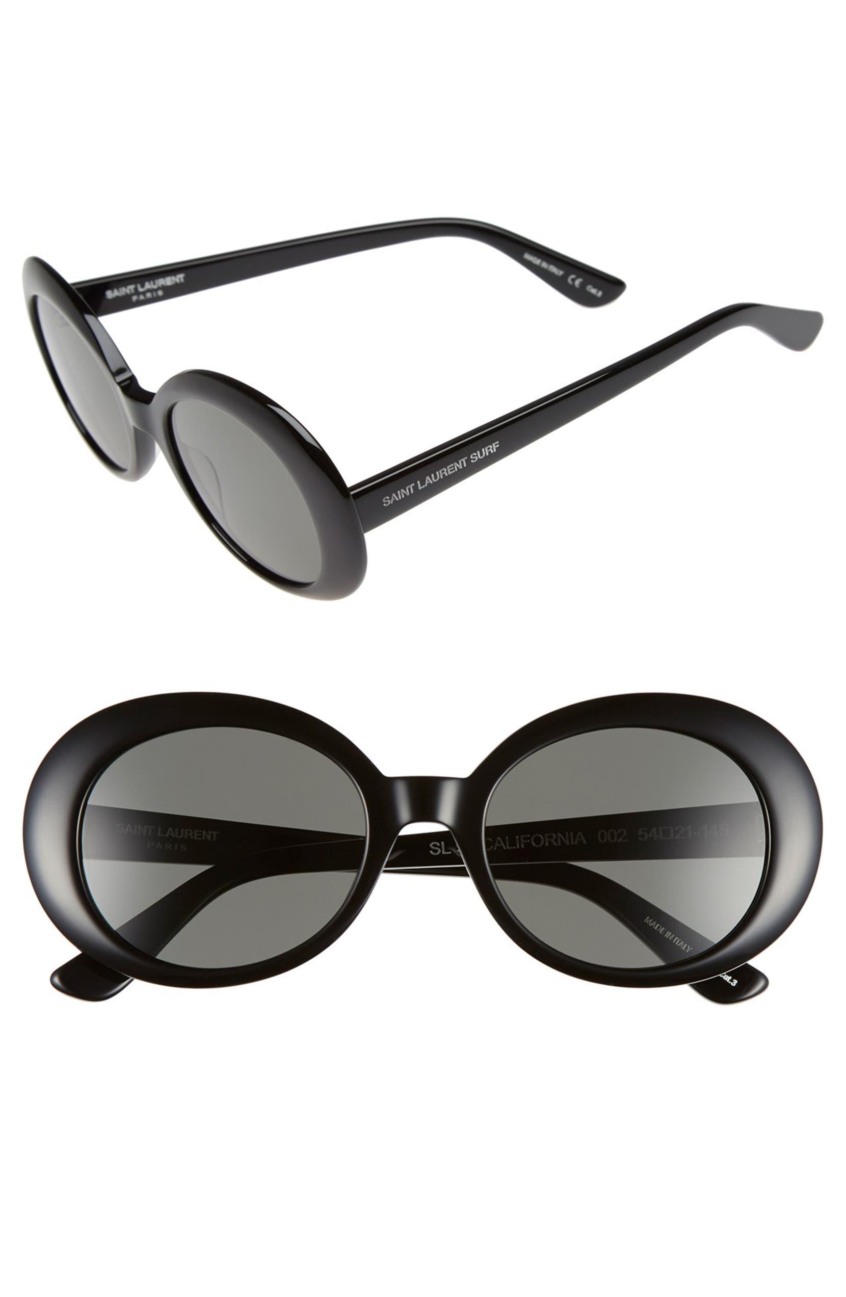 cd9885fc68 Saint Laurent  California  53mm Oval Sunglasses