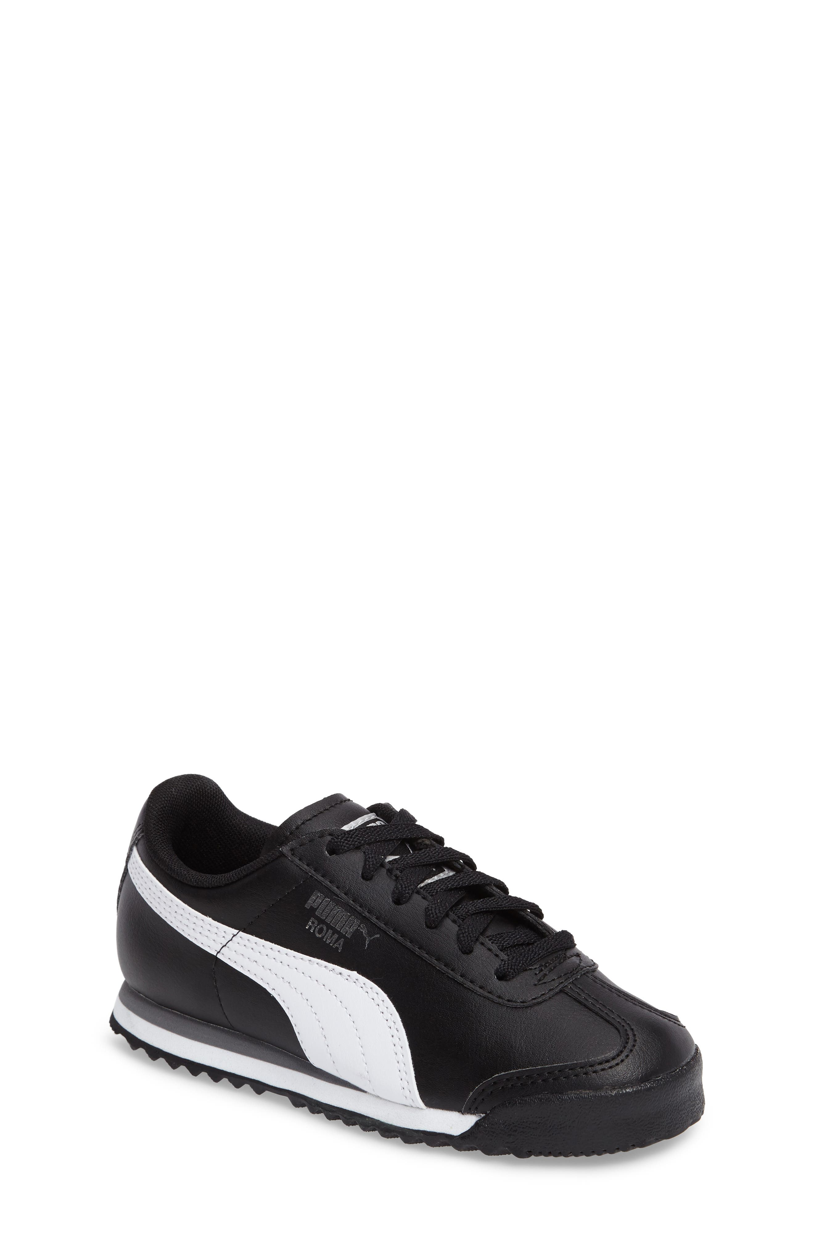 Roma Basic Sneaker,                             Main thumbnail 1, color,                             001