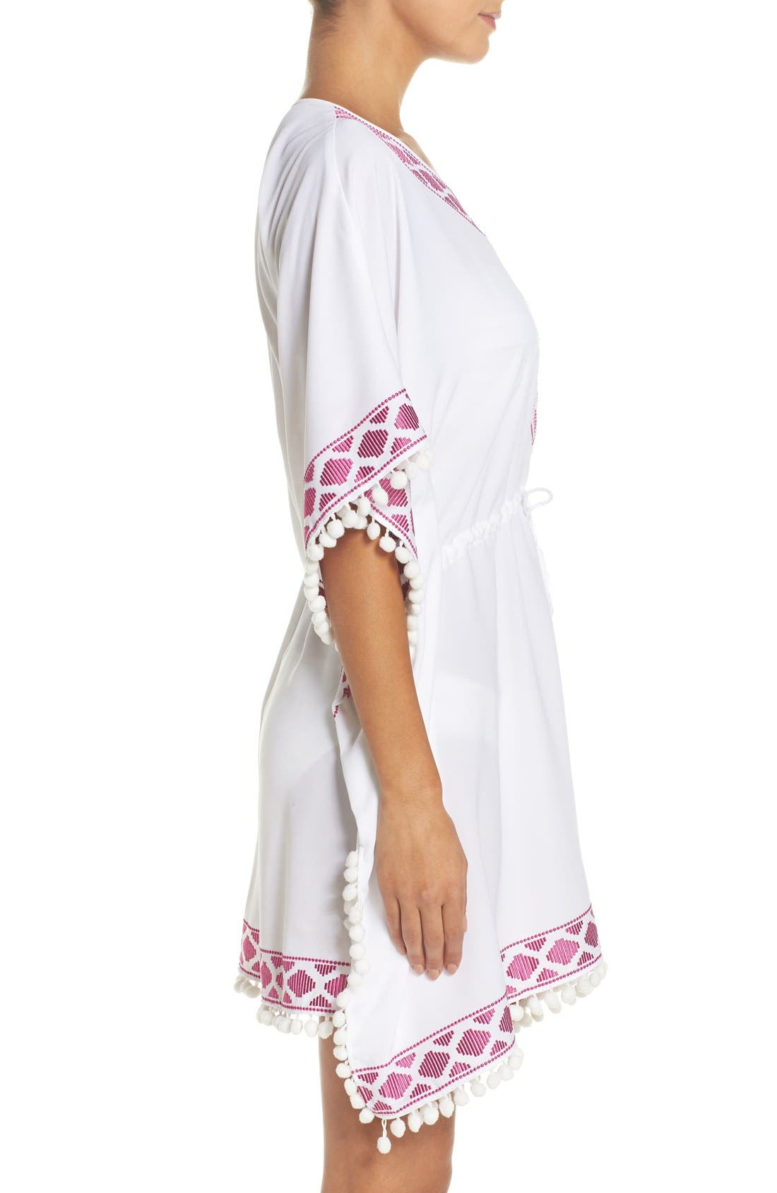 UPF 50 Tunic Cover-Up,                             Alternate thumbnail 8, color,
