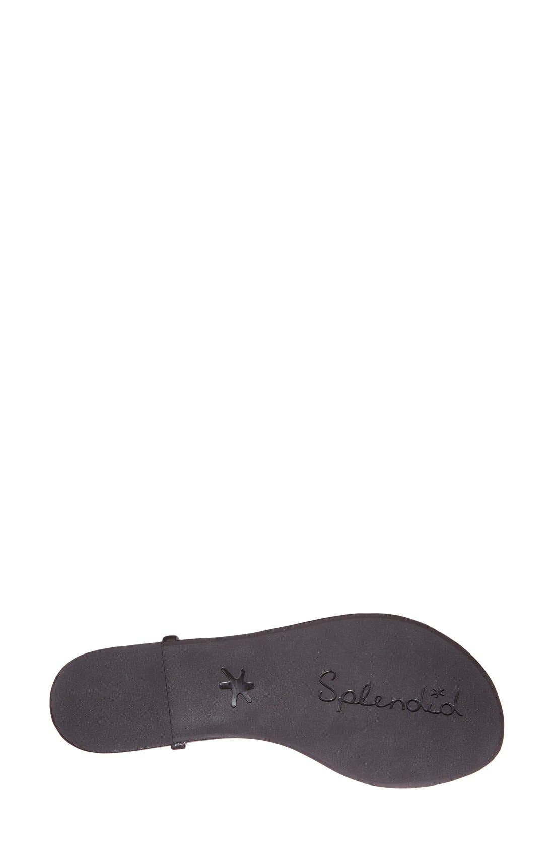 'Mason' Sandal,                             Alternate thumbnail 4, color,                             002
