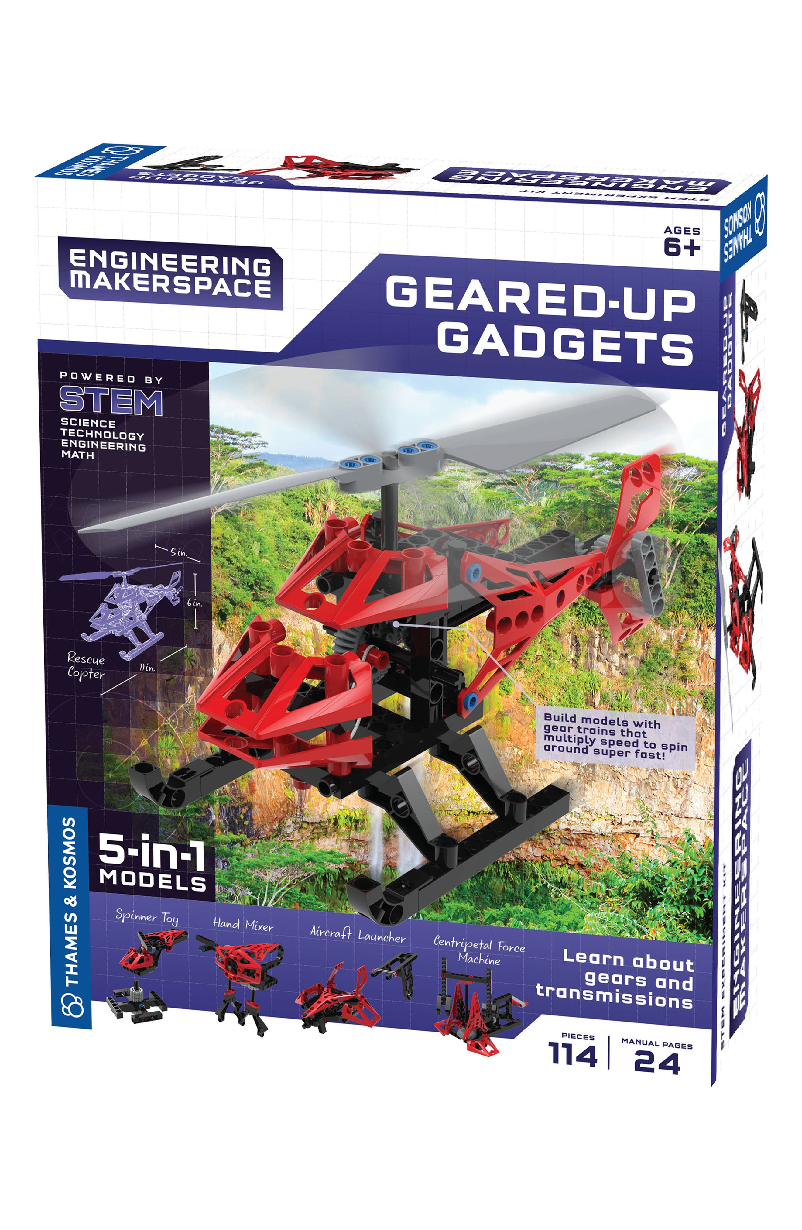 Geared-Up Gadgets,                             Main thumbnail 1, color,                             600