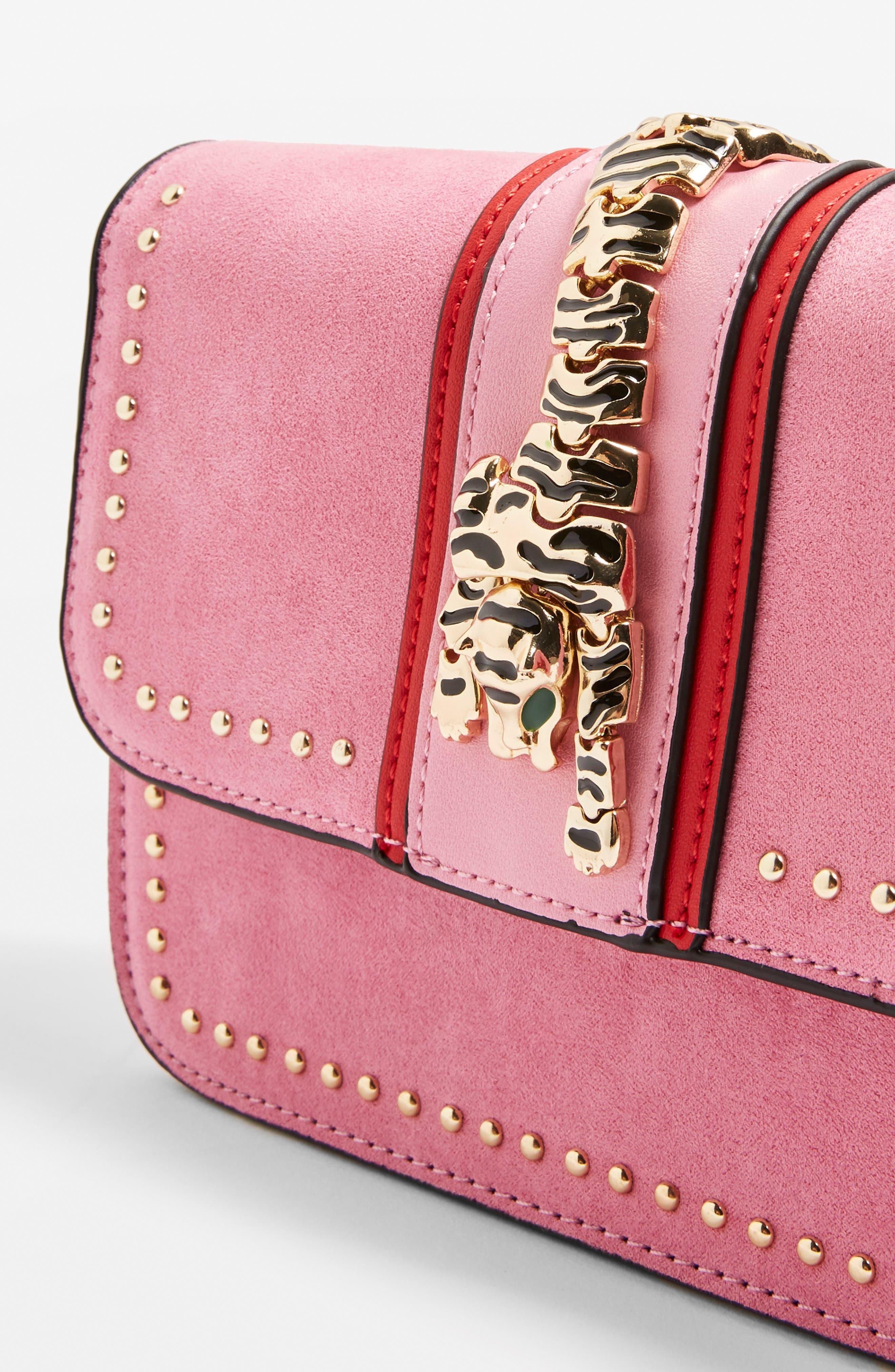 Tiger Crossbody Bag,                             Alternate thumbnail 6, color,
