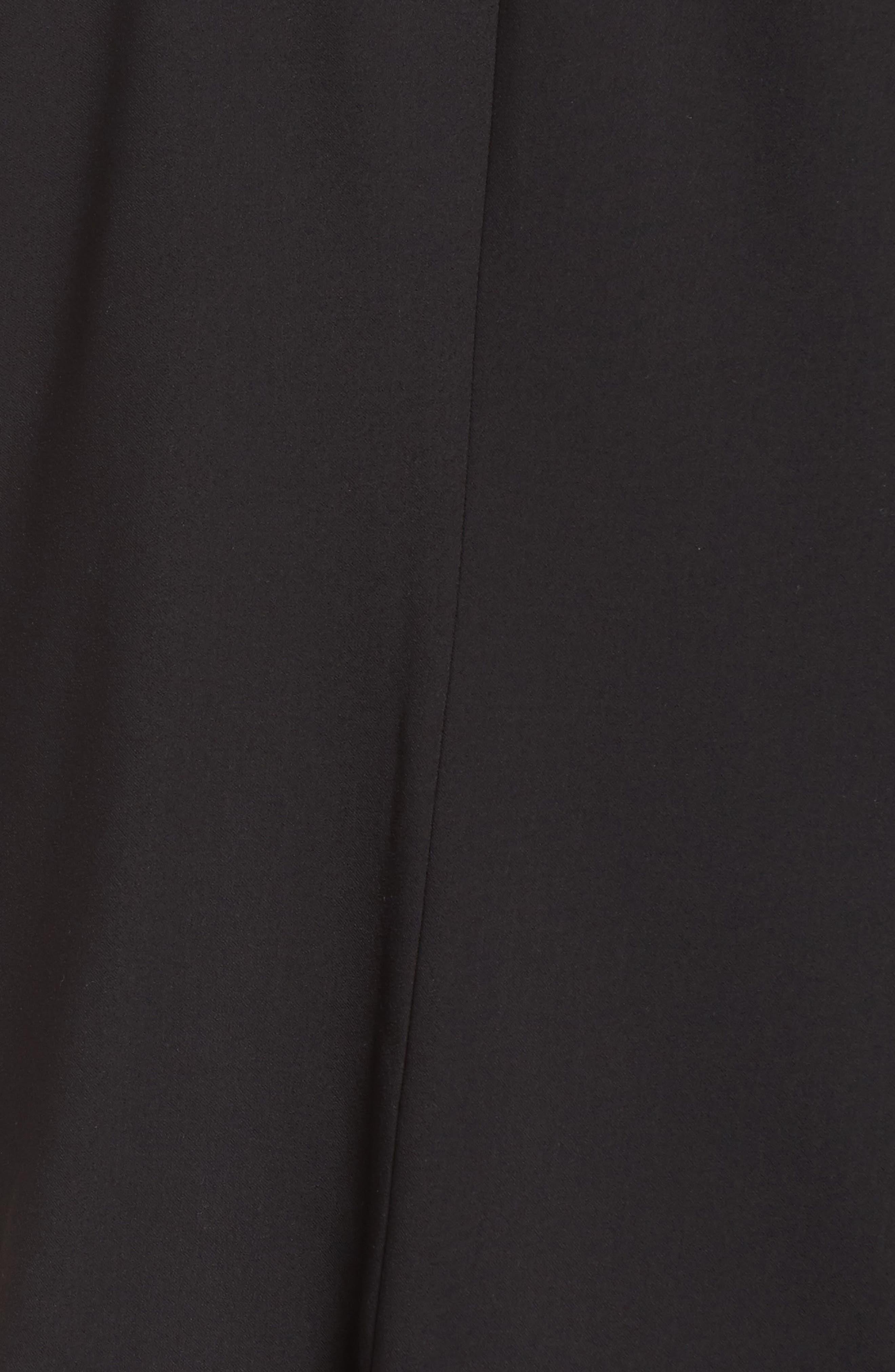 Drape Neck Jacket,                             Alternate thumbnail 7, color,                             001