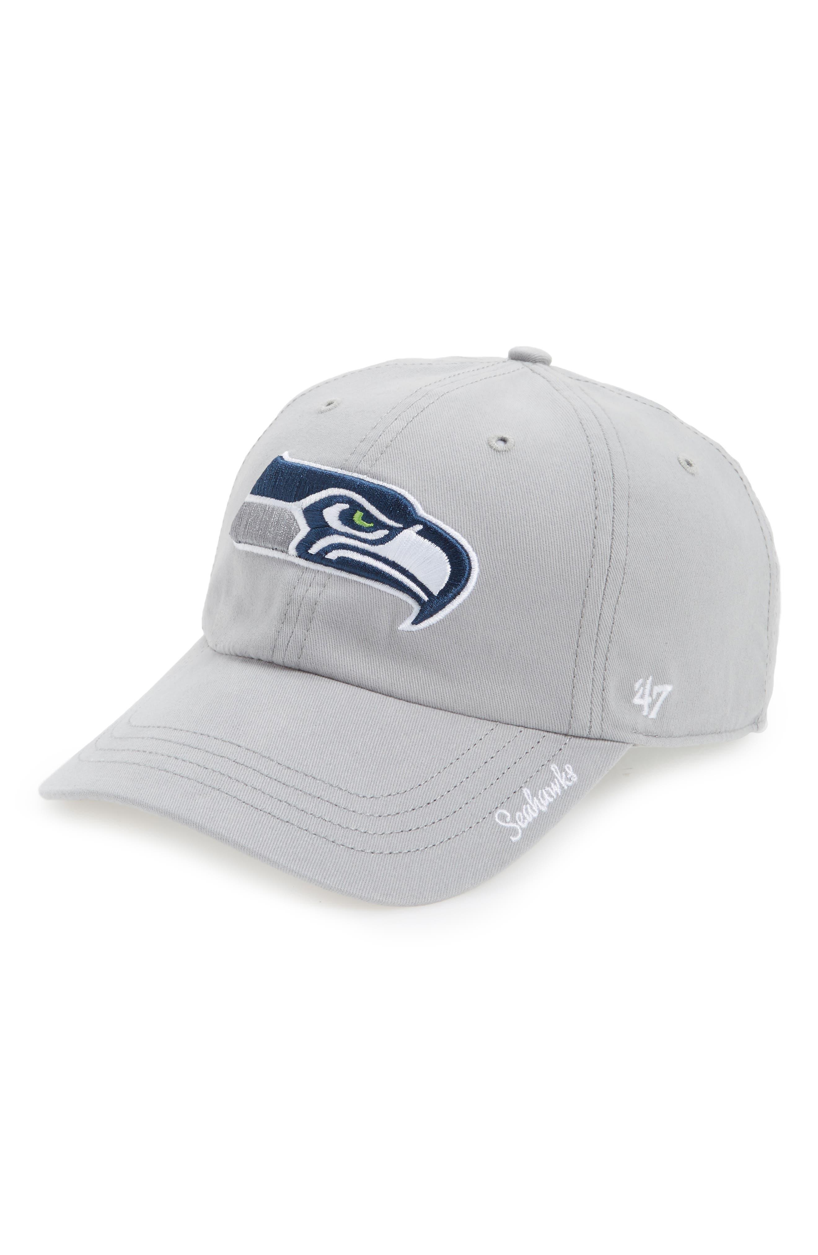 Seattle Seahawks Cap,                             Main thumbnail 1, color,                             020