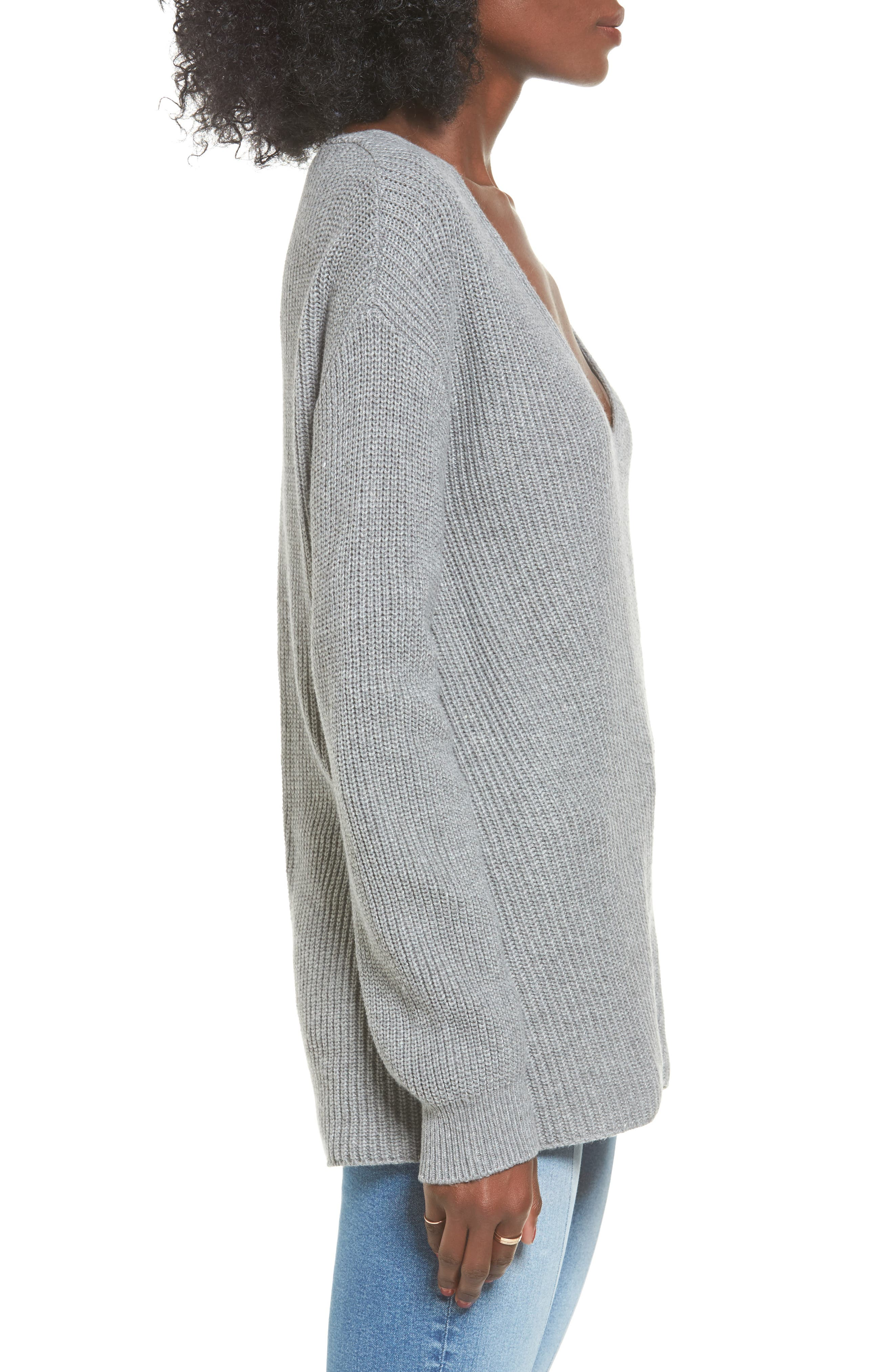 V-Neck Sweater,                             Alternate thumbnail 16, color,