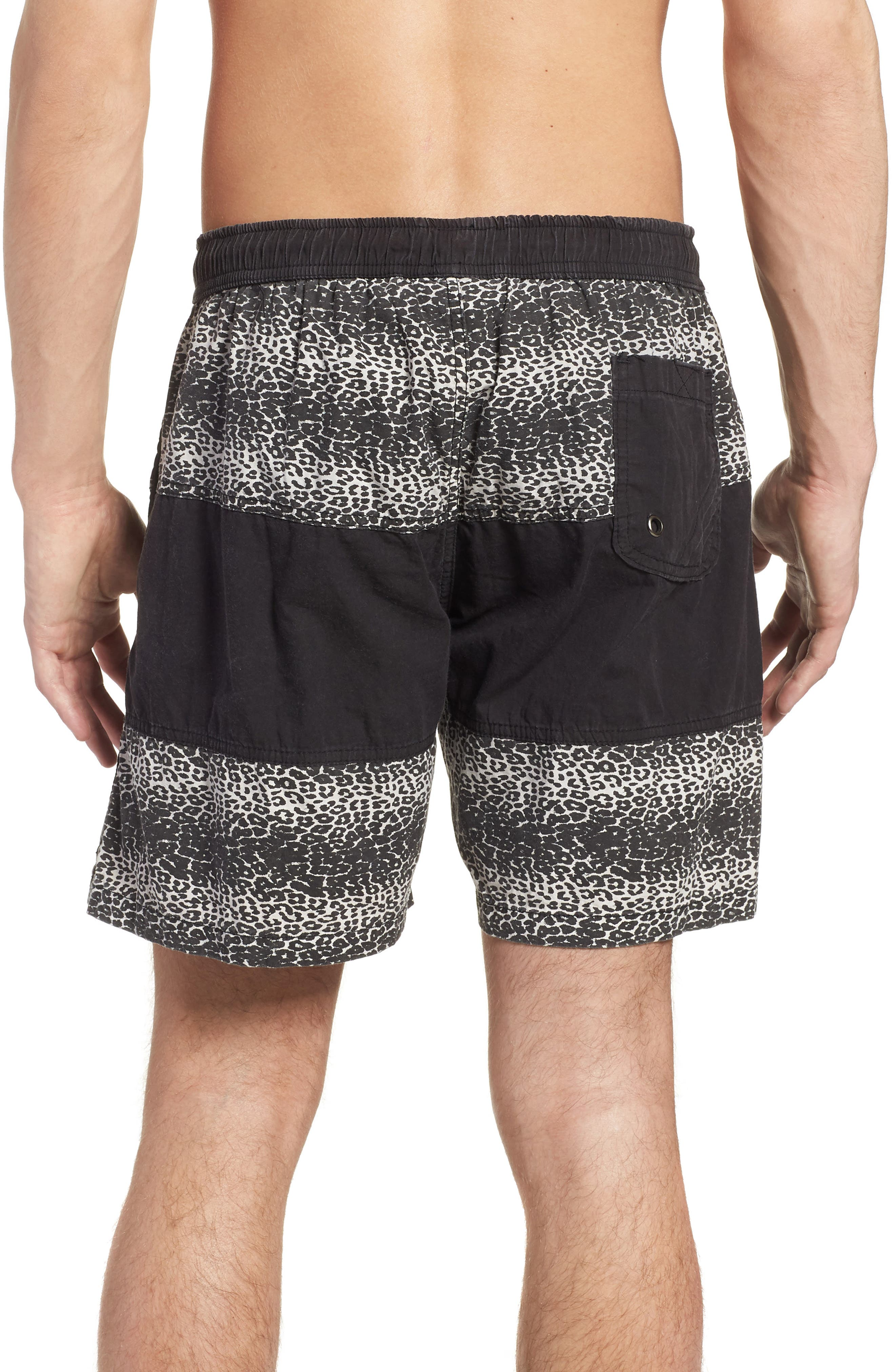 Easy Boardie Shorts,                             Alternate thumbnail 2, color,                             SNOW LEOPARD