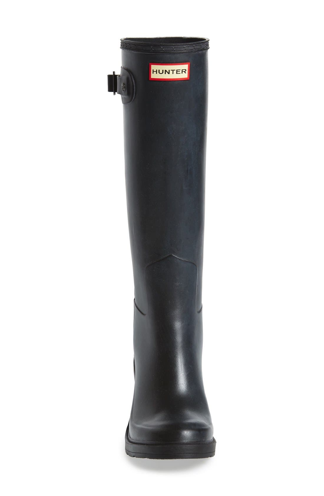 Original Refined Wedge Rain Boot,                             Alternate thumbnail 10, color,