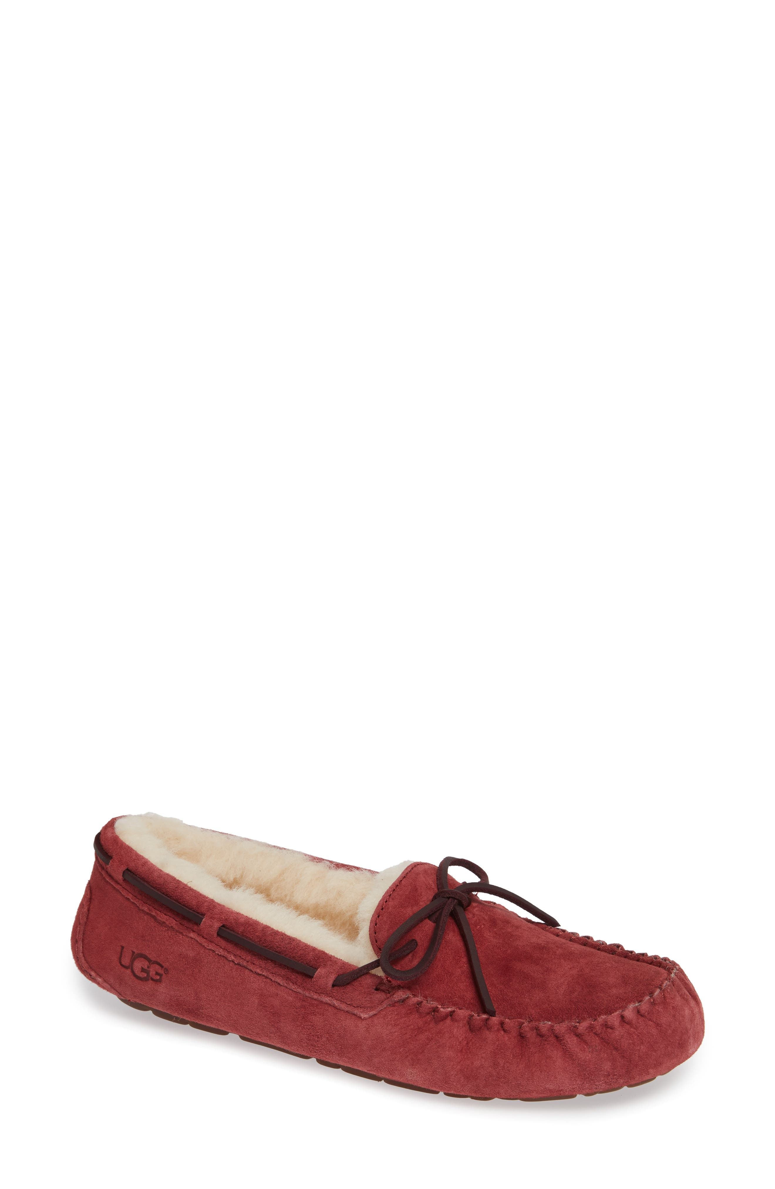 Ugg Dakota Water Resistant Slipper, Red