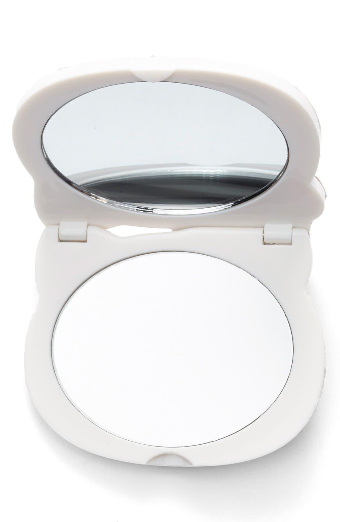 Sanrio 'Hello Kitty<sup>®</sup>' Compact Mirror,                             Alternate thumbnail 2, color,                             600