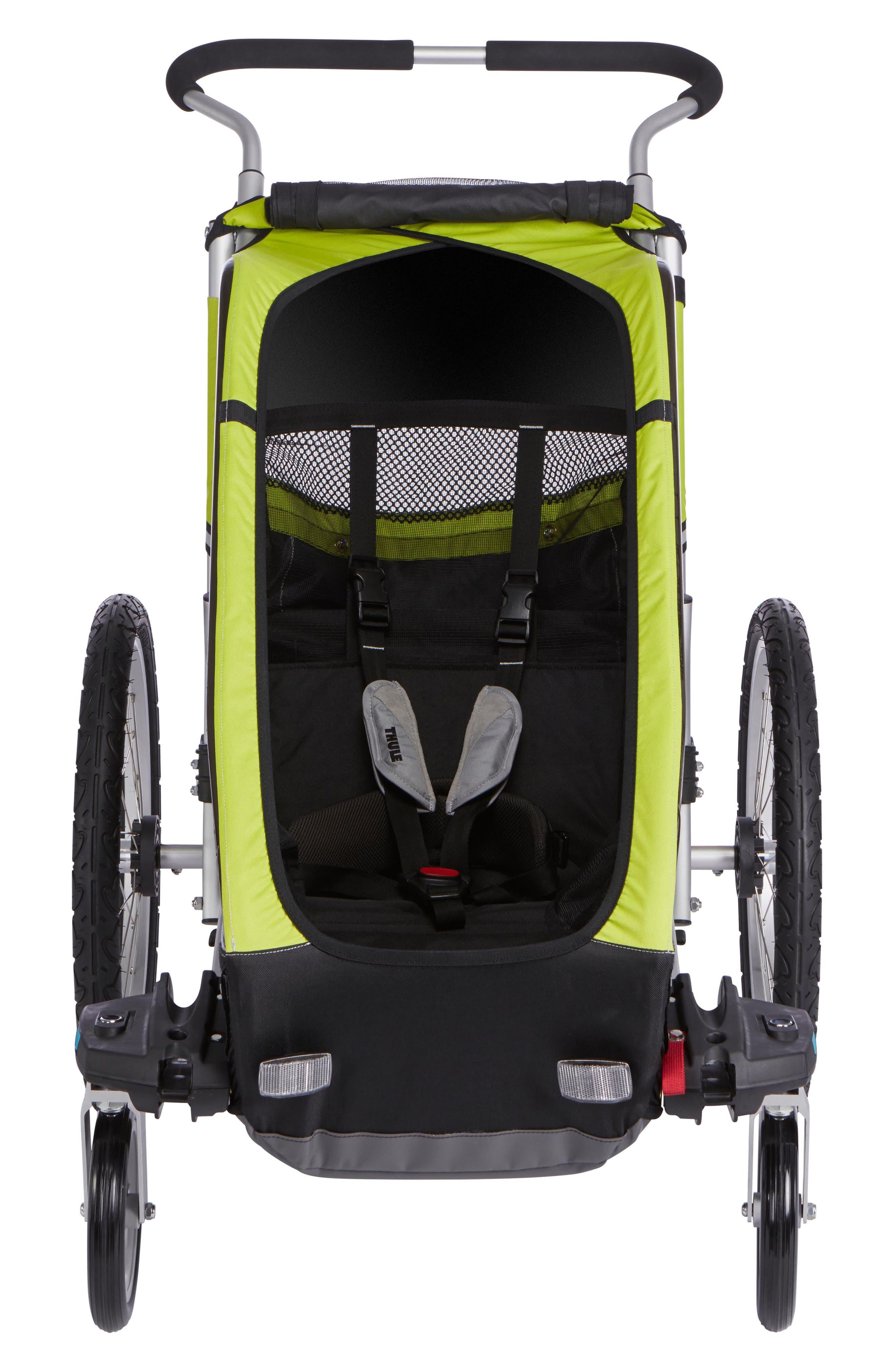 Chariot Cheetah XT 2 Multisport Cycle Trailer/Stroller,                             Main thumbnail 1, color,                             CHARTREUSE