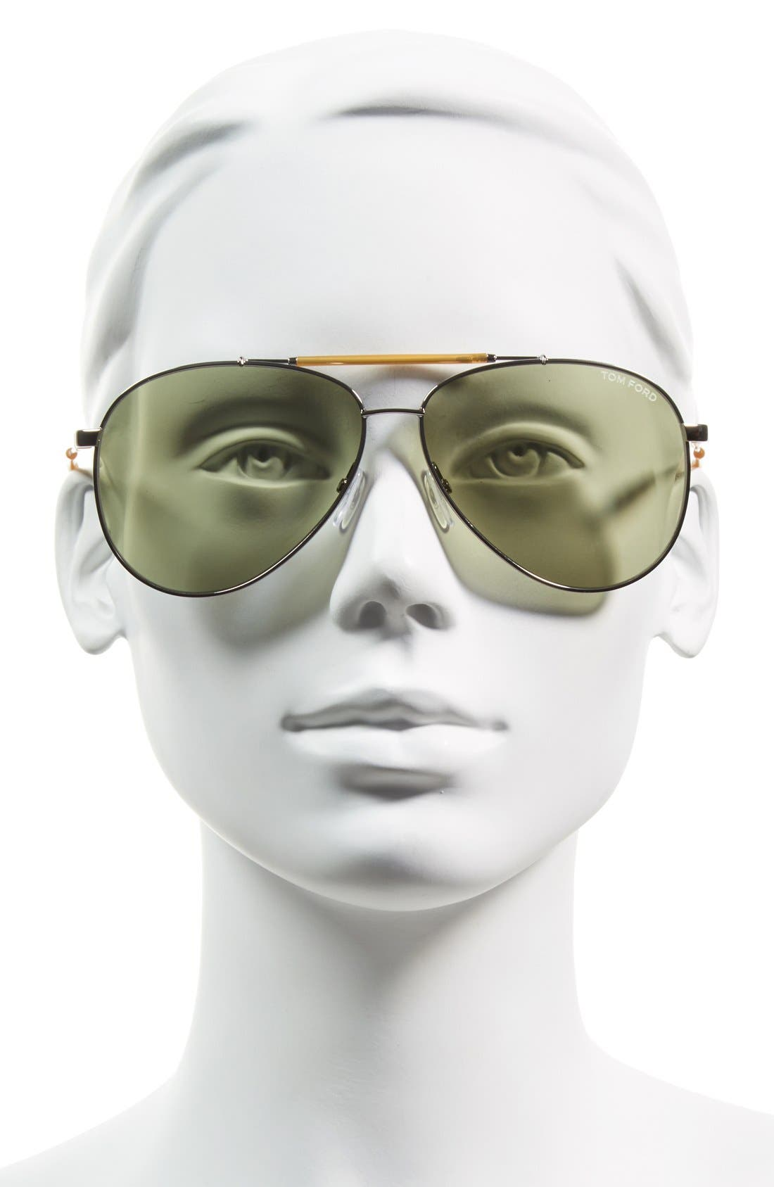 'Rick' 62mm Aviator Sunglasses,                             Alternate thumbnail 2, color,                             040