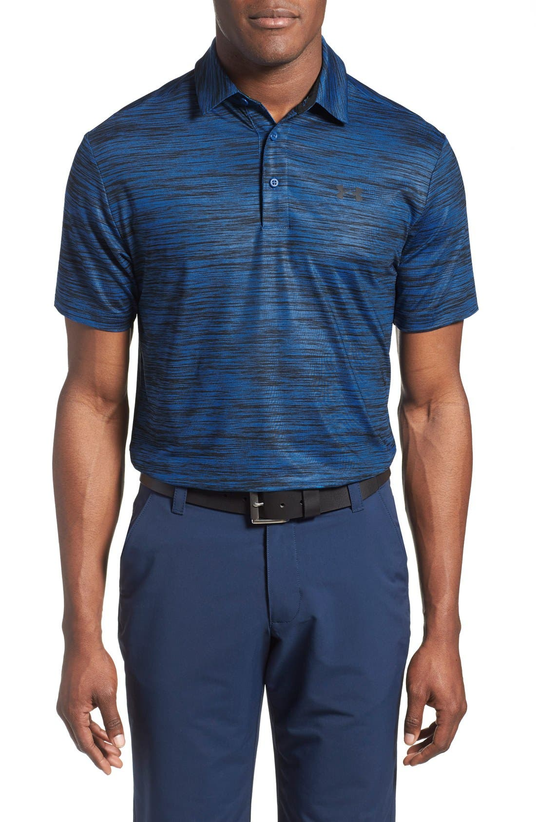 'Playoff' Loose Fit Short Sleeve Polo,                             Main thumbnail 38, color,