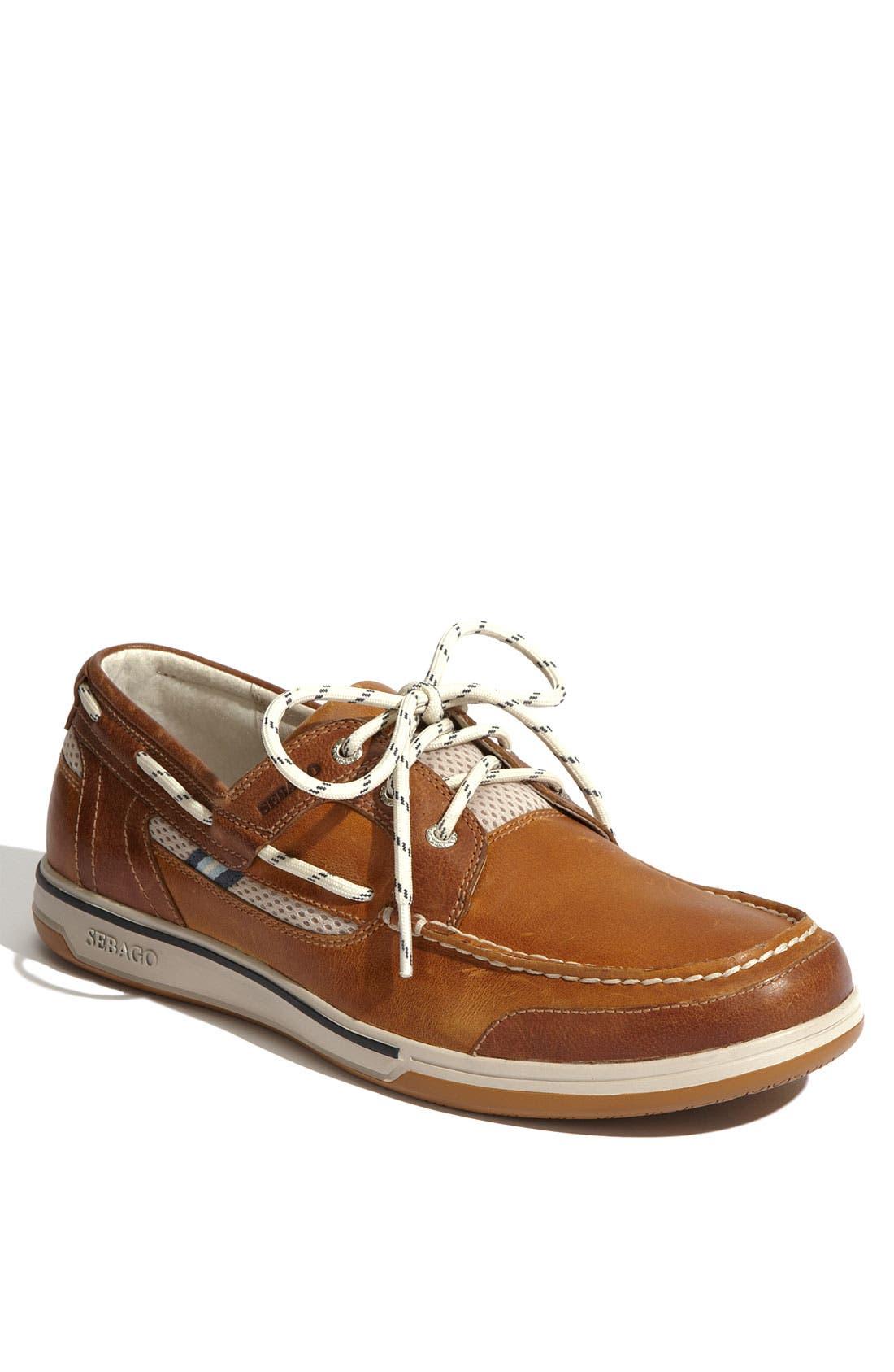 'Triton' Boat Shoe, Main, color, 236