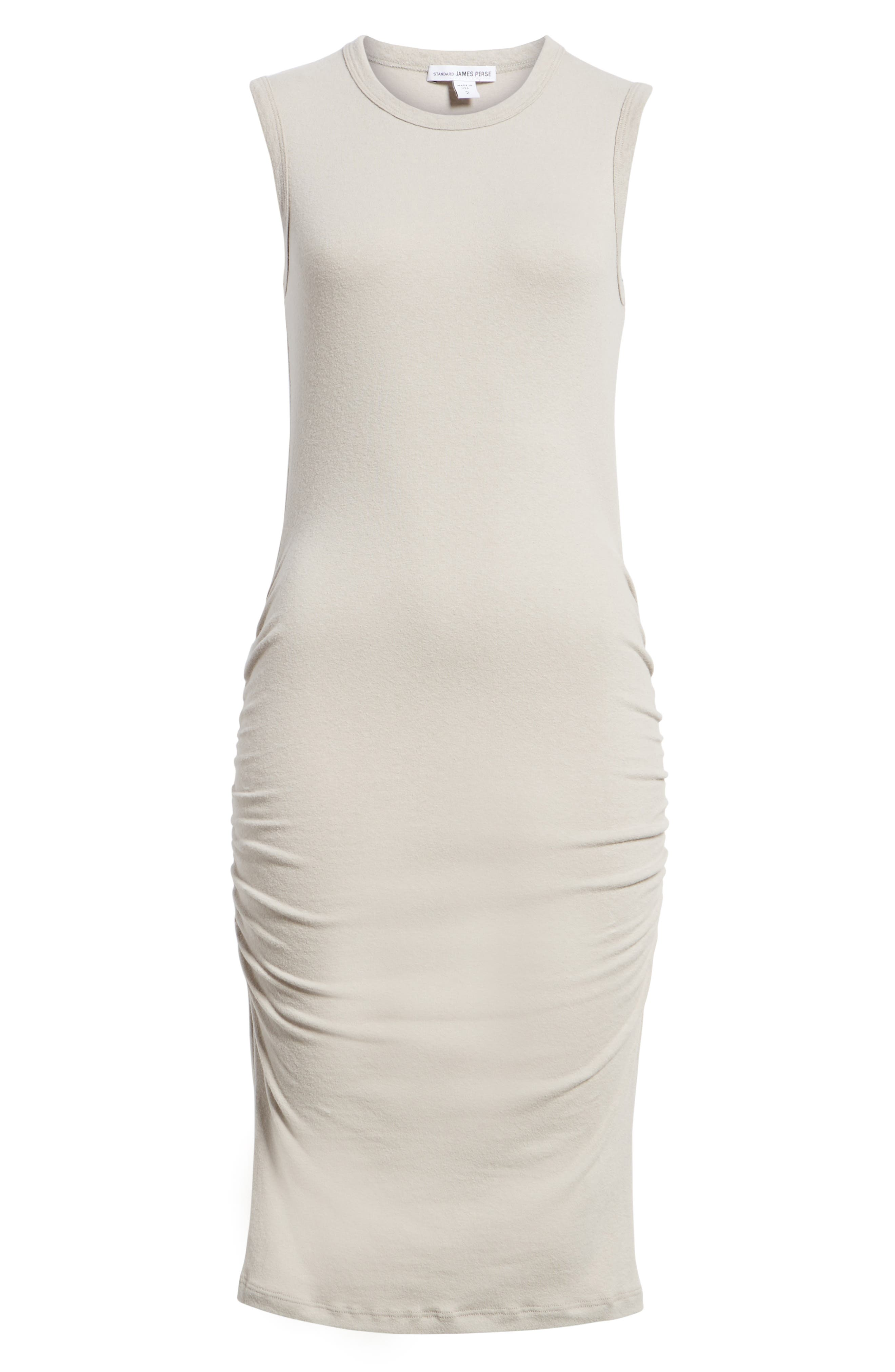 Ruched Tank Dress,                             Alternate thumbnail 7, color,                             085
